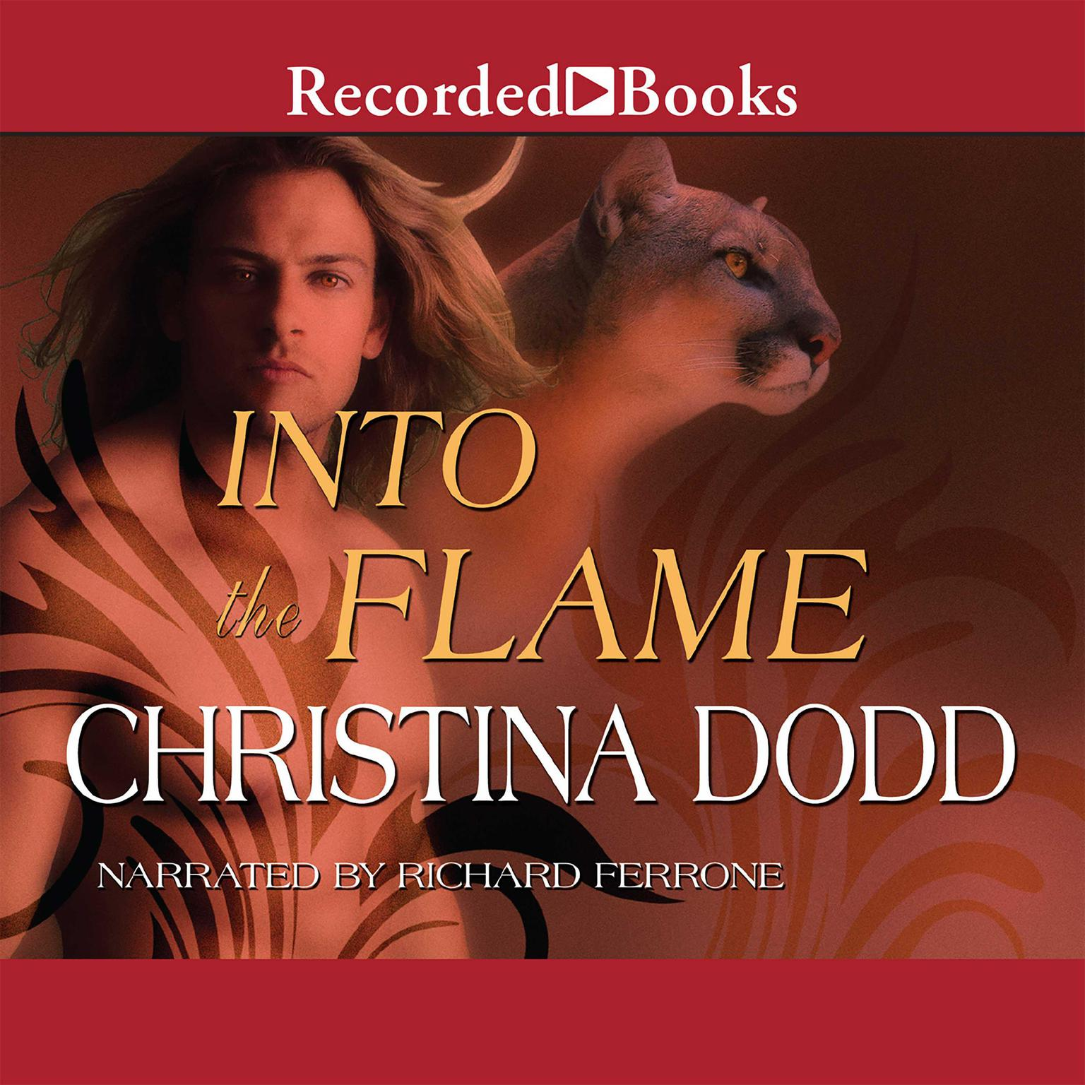 Printable Into the Flame Audiobook Cover Art