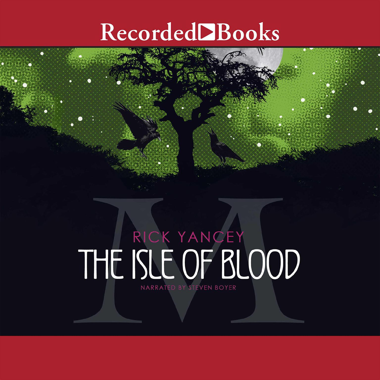 Printable The Isle of Blood Audiobook Cover Art