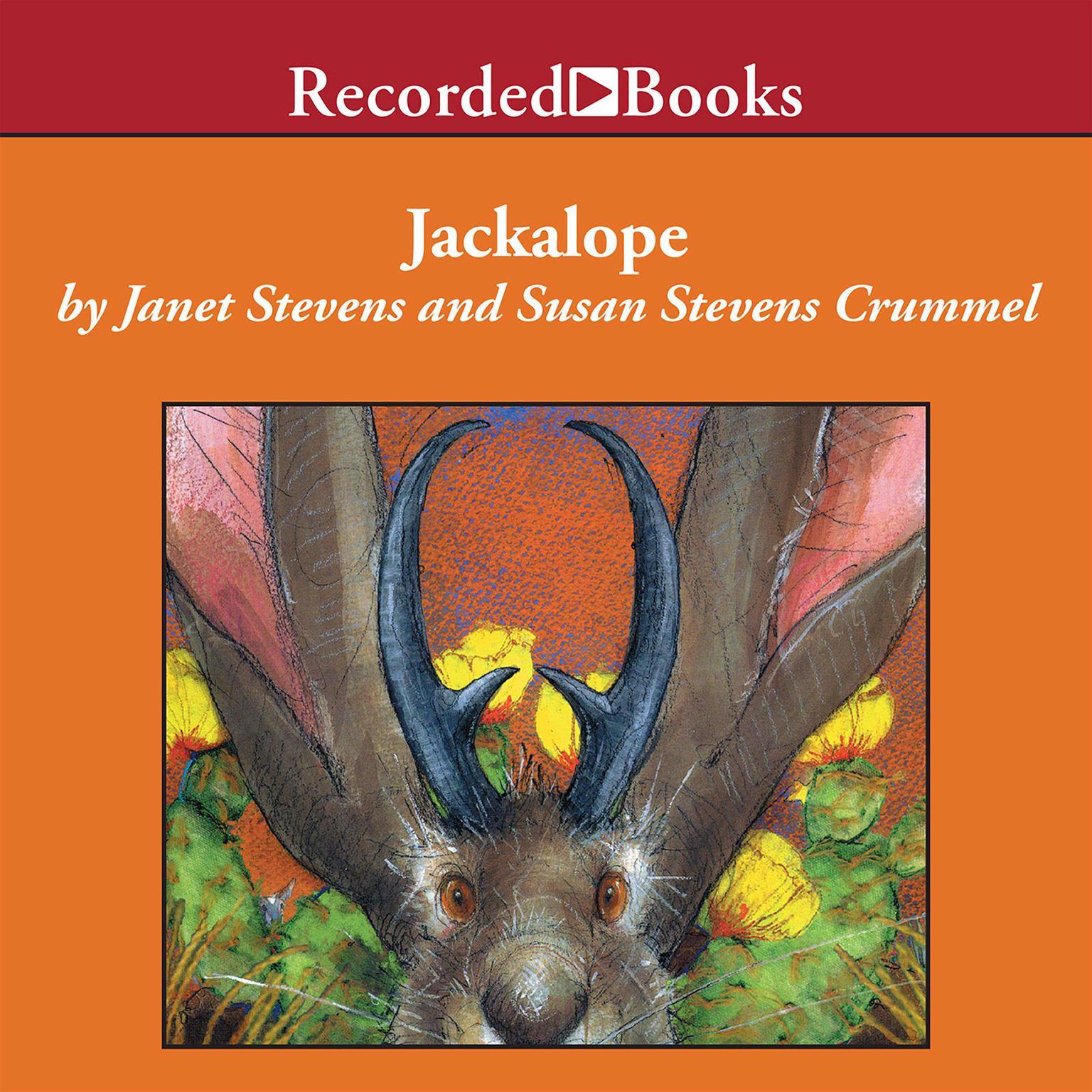 Printable Jackalope Audiobook Cover Art