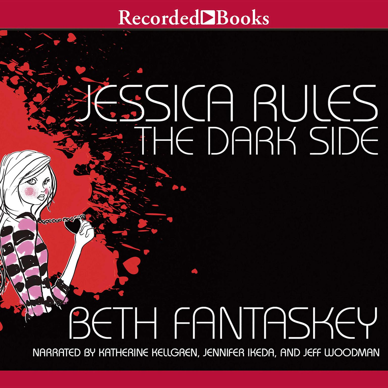 Printable Jessica Rules the Dark Side Audiobook Cover Art