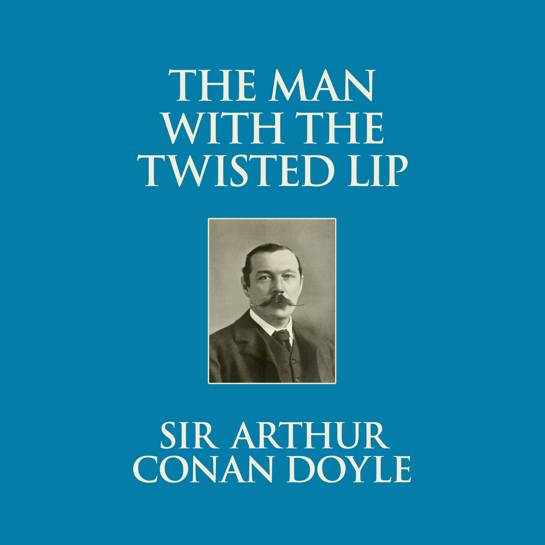 Printable The Man with the Twisted Lip Audiobook Cover Art
