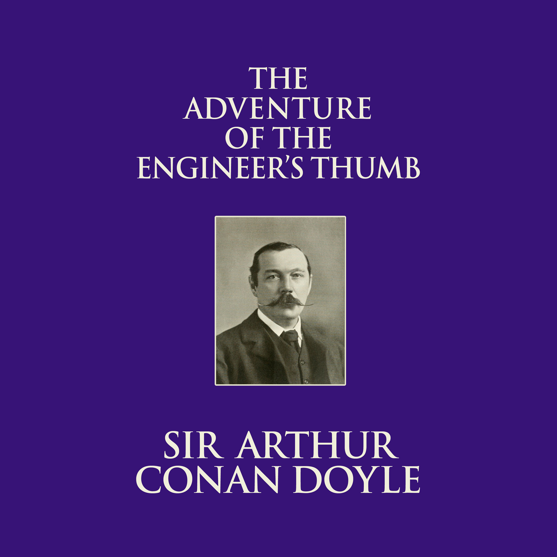Printable The Adventure of the Engineer's Thumb Audiobook Cover Art