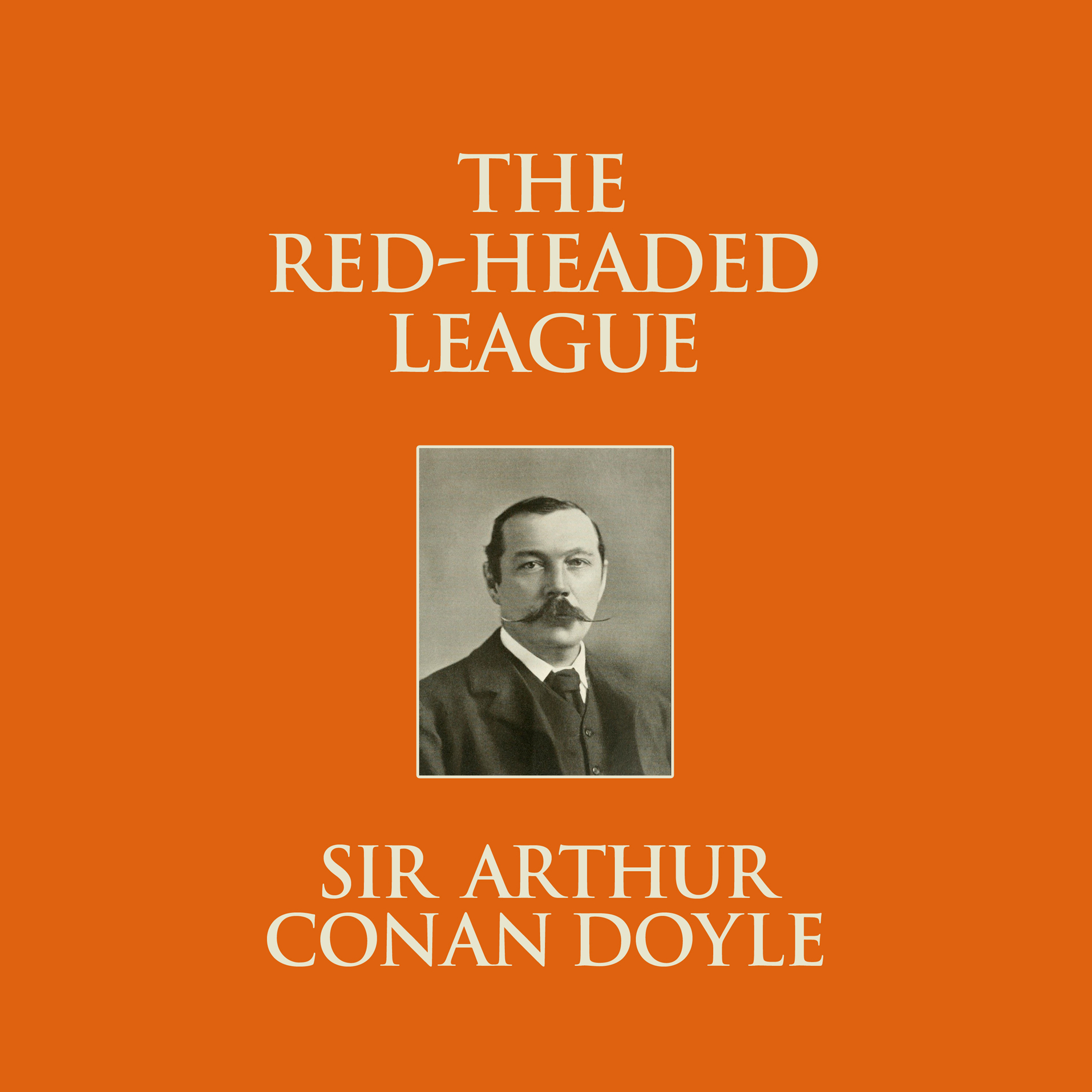 Printable The Red-Headed League Audiobook Cover Art