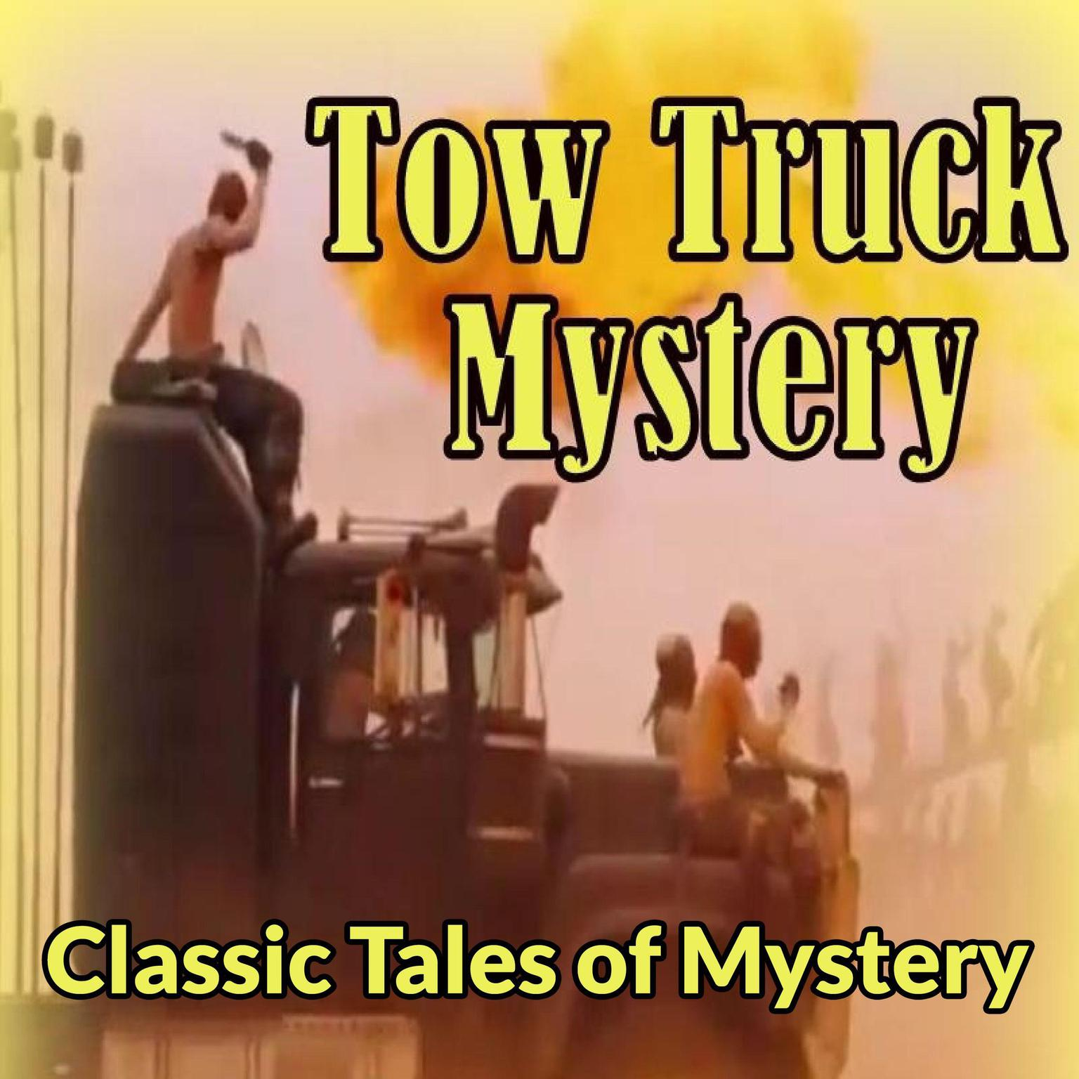 Printable Tow-Truck Mystery Audiobook Cover Art