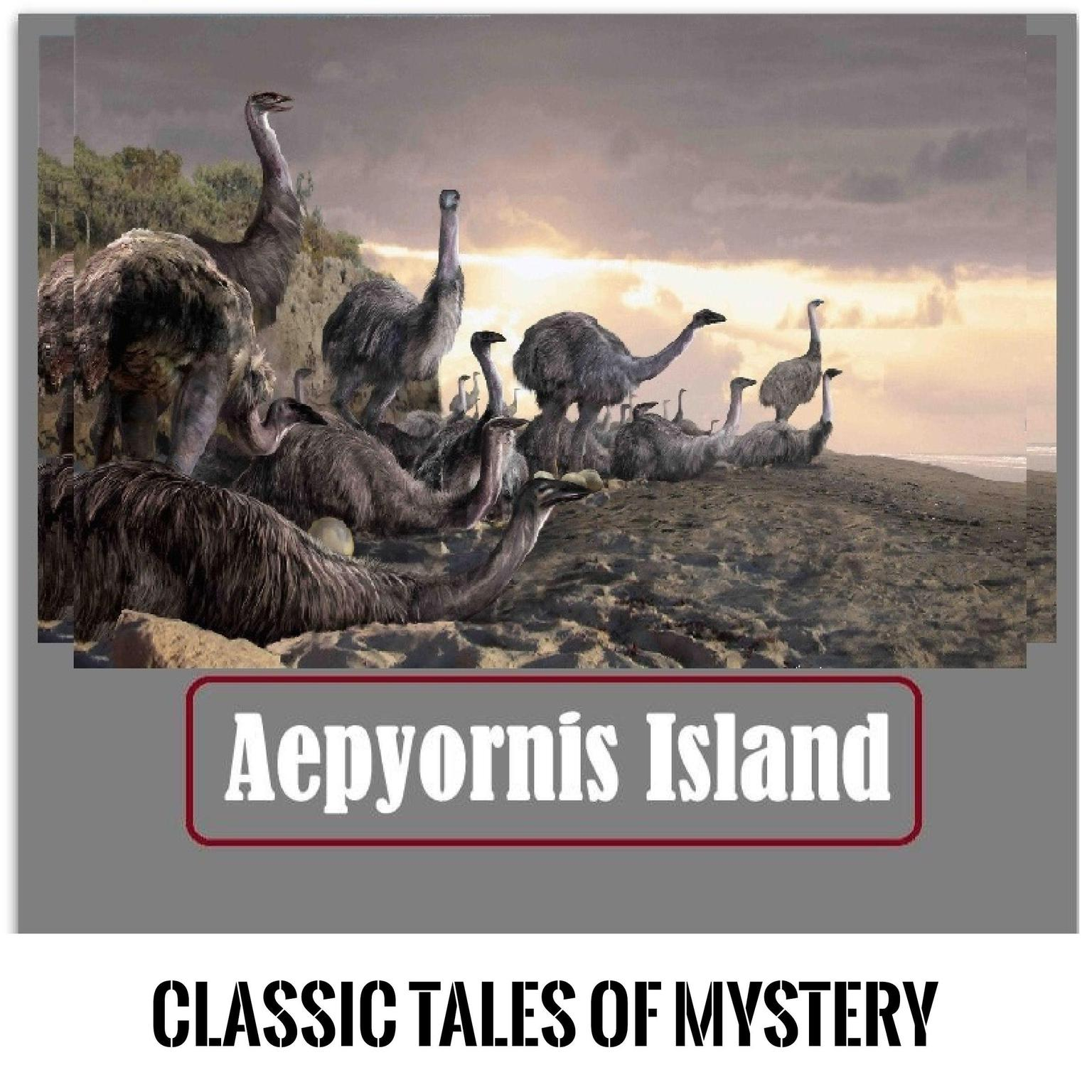 Printable Aepyornis Island Audiobook Cover Art