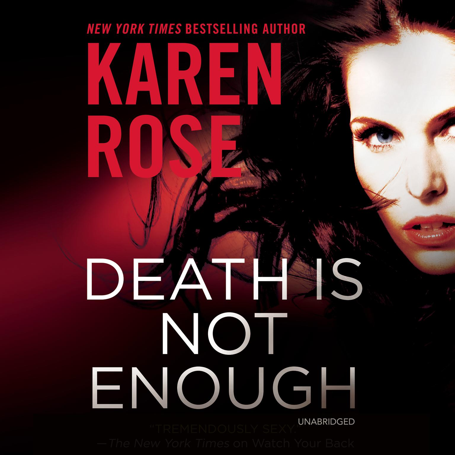 Printable Death Is Not Enough Audiobook Cover Art
