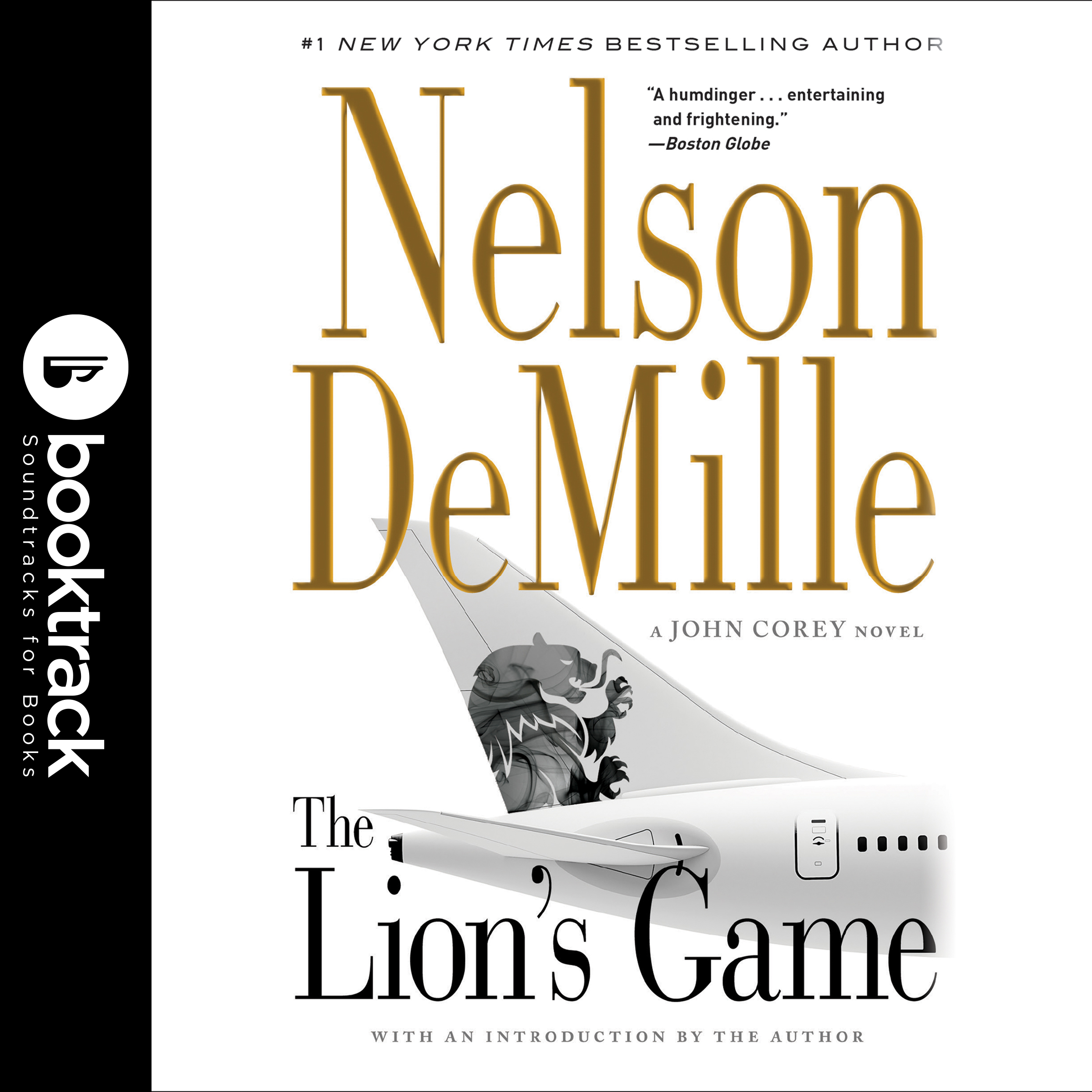 Printable The Lion's Game: Booktrack Edition Audiobook Cover Art