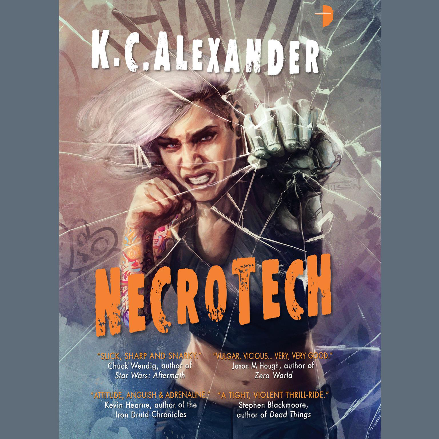 Printable Necrotech Audiobook Cover Art