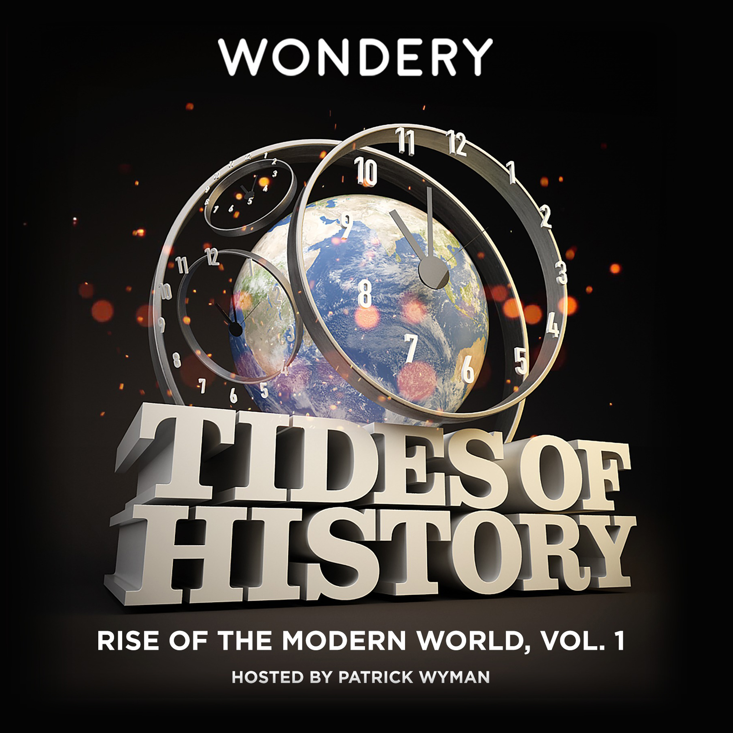 Printable Tides of History: Rise of the Modern World, Vol. 1 Audiobook Cover Art