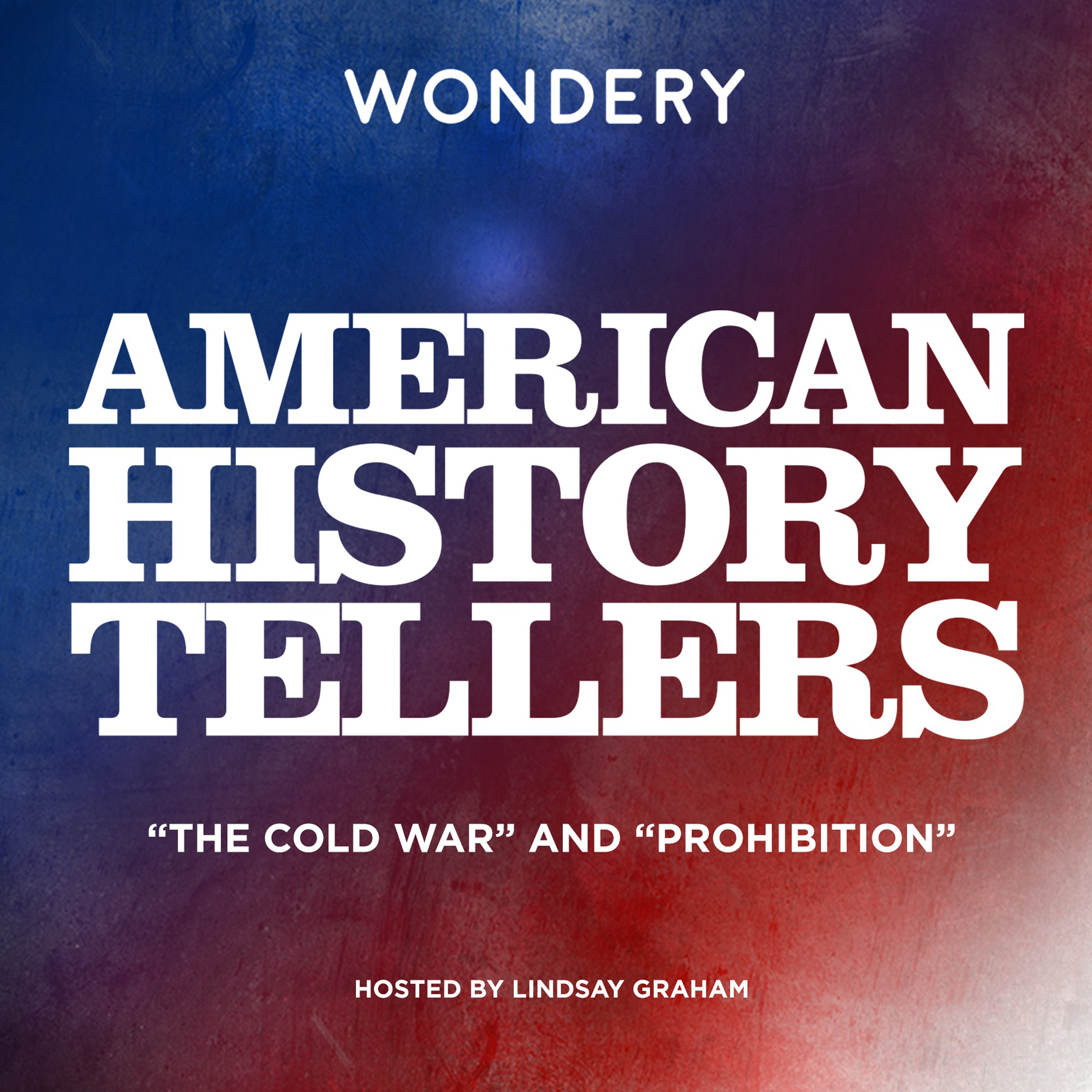 "Printable American History Tellers: ""The Cold War"" and ""Prohibition"" Audiobook Cover Art"