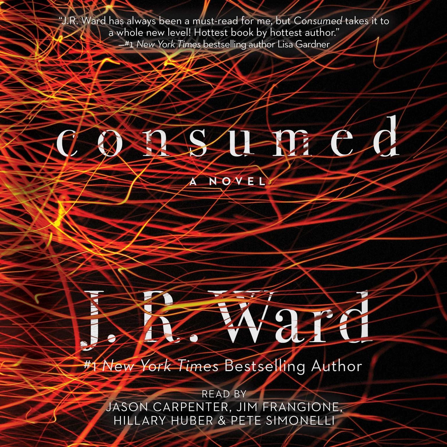 Printable Consumed Audiobook Cover Art