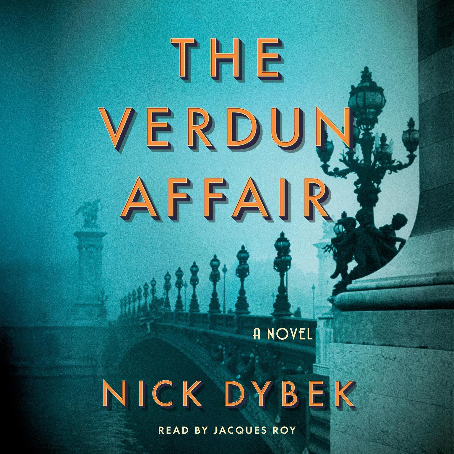 Printable The Verdun Affair: A Novel Audiobook Cover Art
