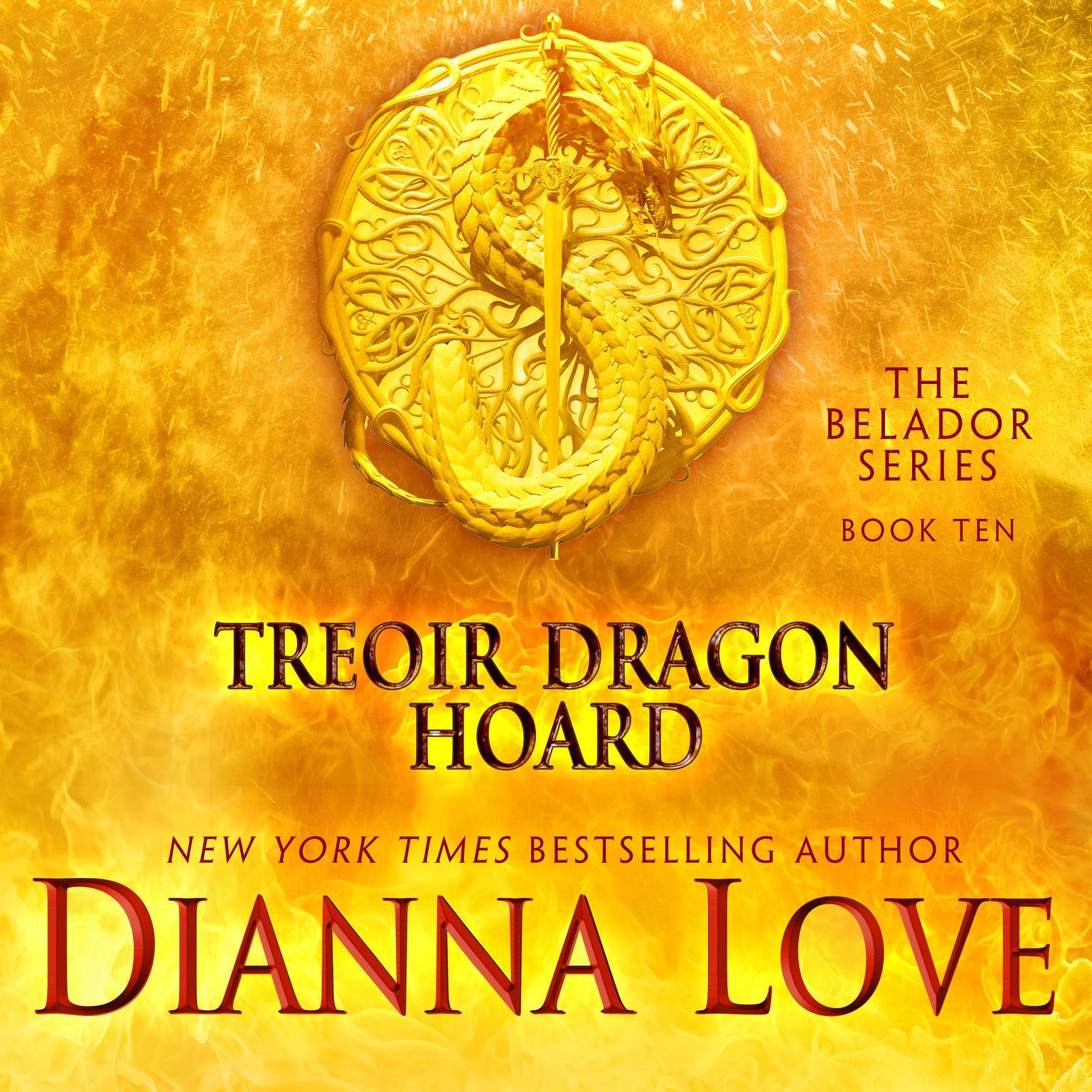 Printable Treoir Dragon Hoard Audiobook Cover Art