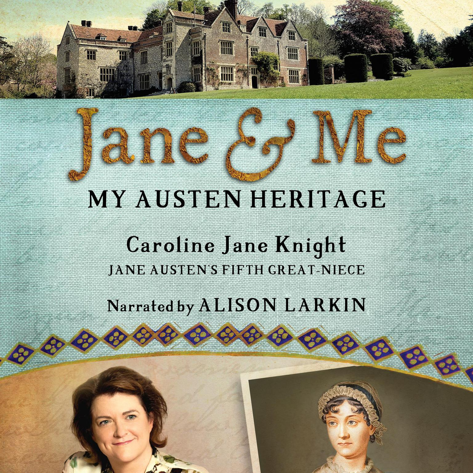 Printable Jane and Me: My Austen Heritage Audiobook Cover Art