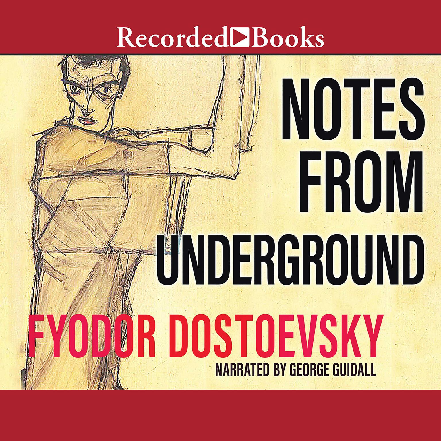 Printable Notes from Underground Audiobook Cover Art