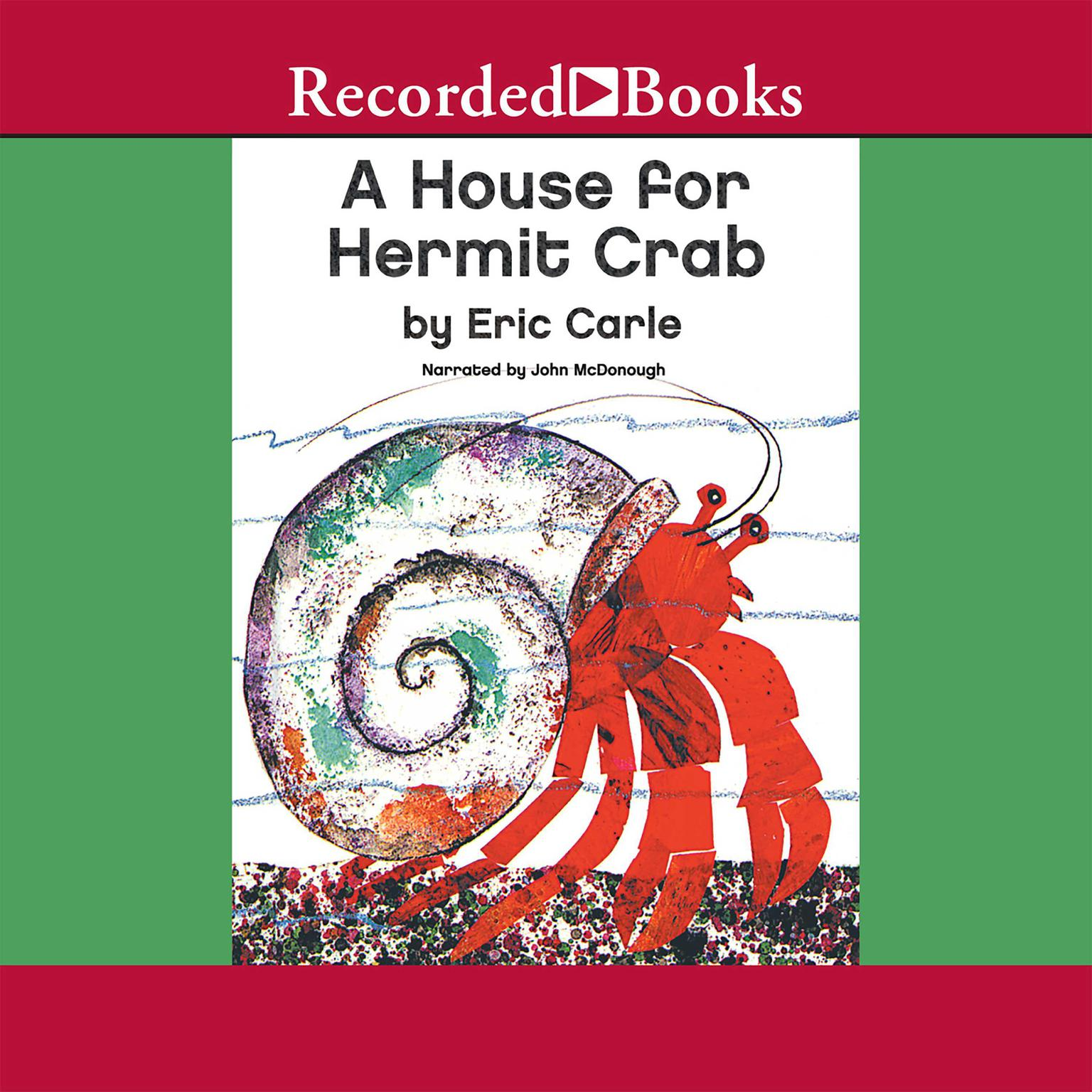 Printable A House for Hermit Crab Audiobook Cover Art