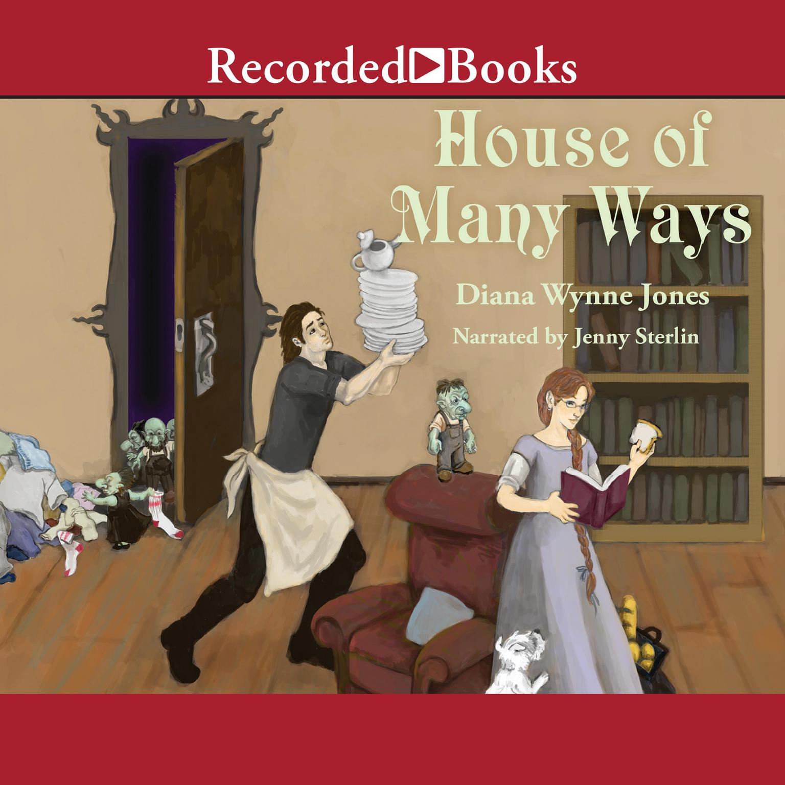 Printable House of Many Ways Audiobook Cover Art