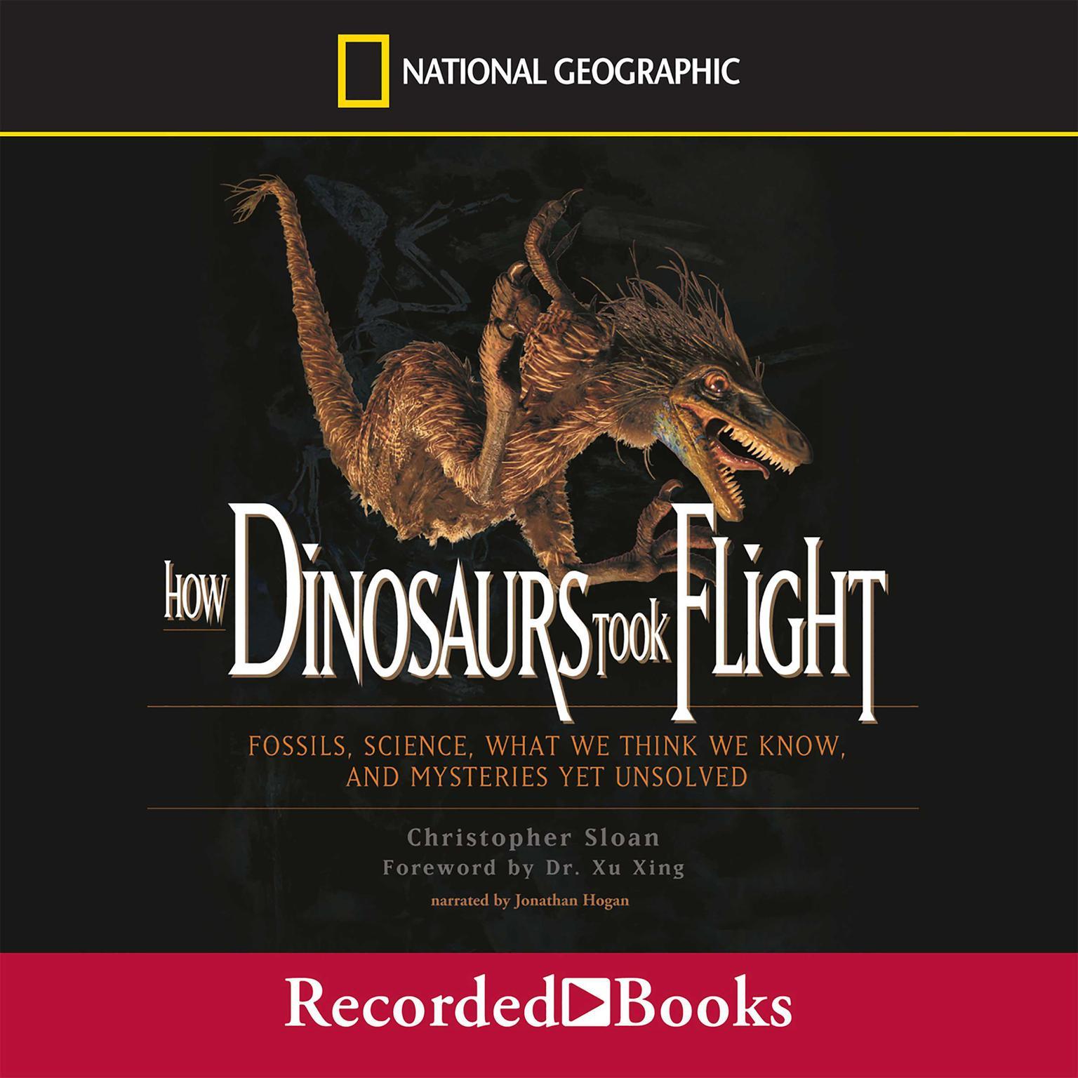 Printable How Dinosaurs Took Flight Audiobook Cover Art