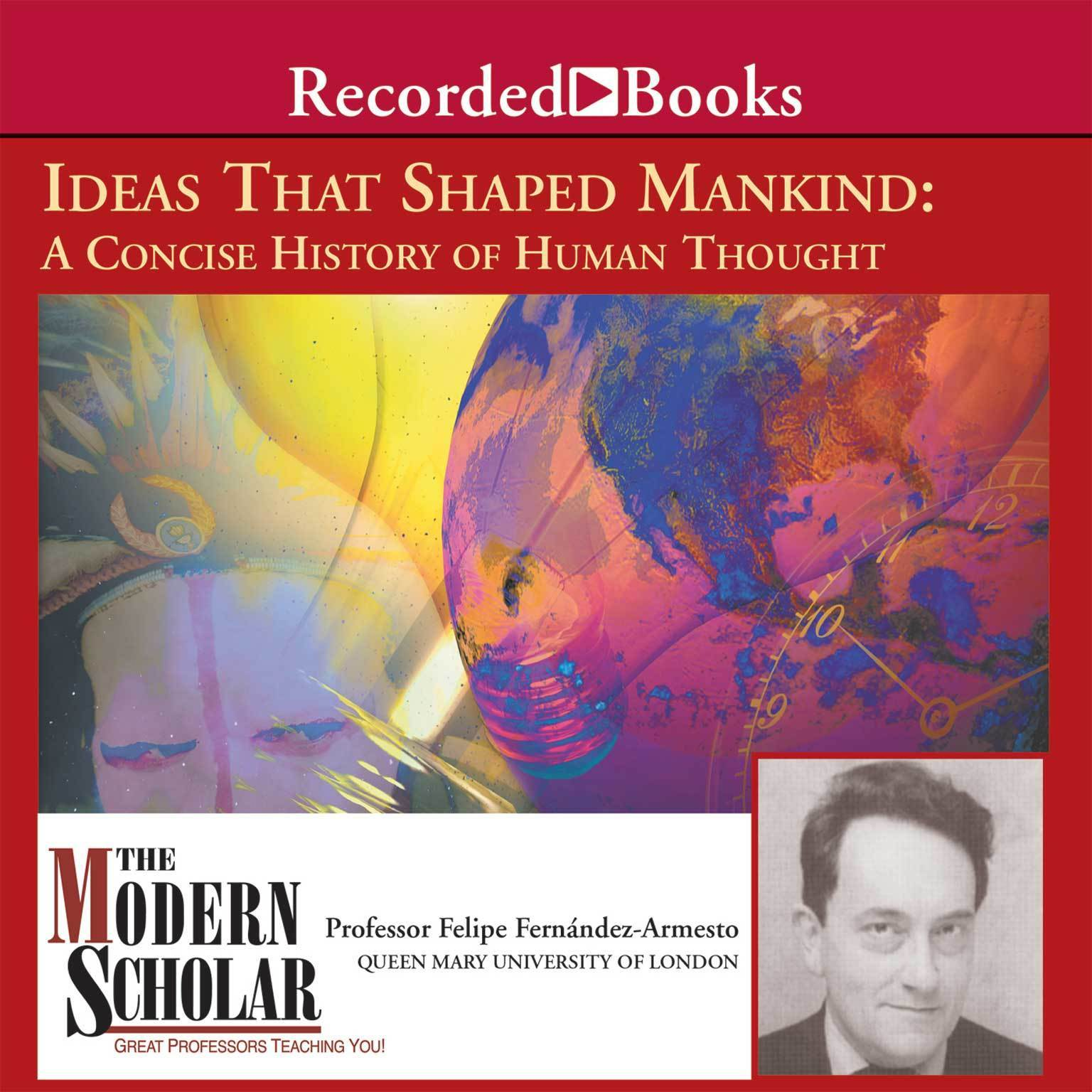 Printable Ideas That Shaped Mankind Audiobook Cover Art