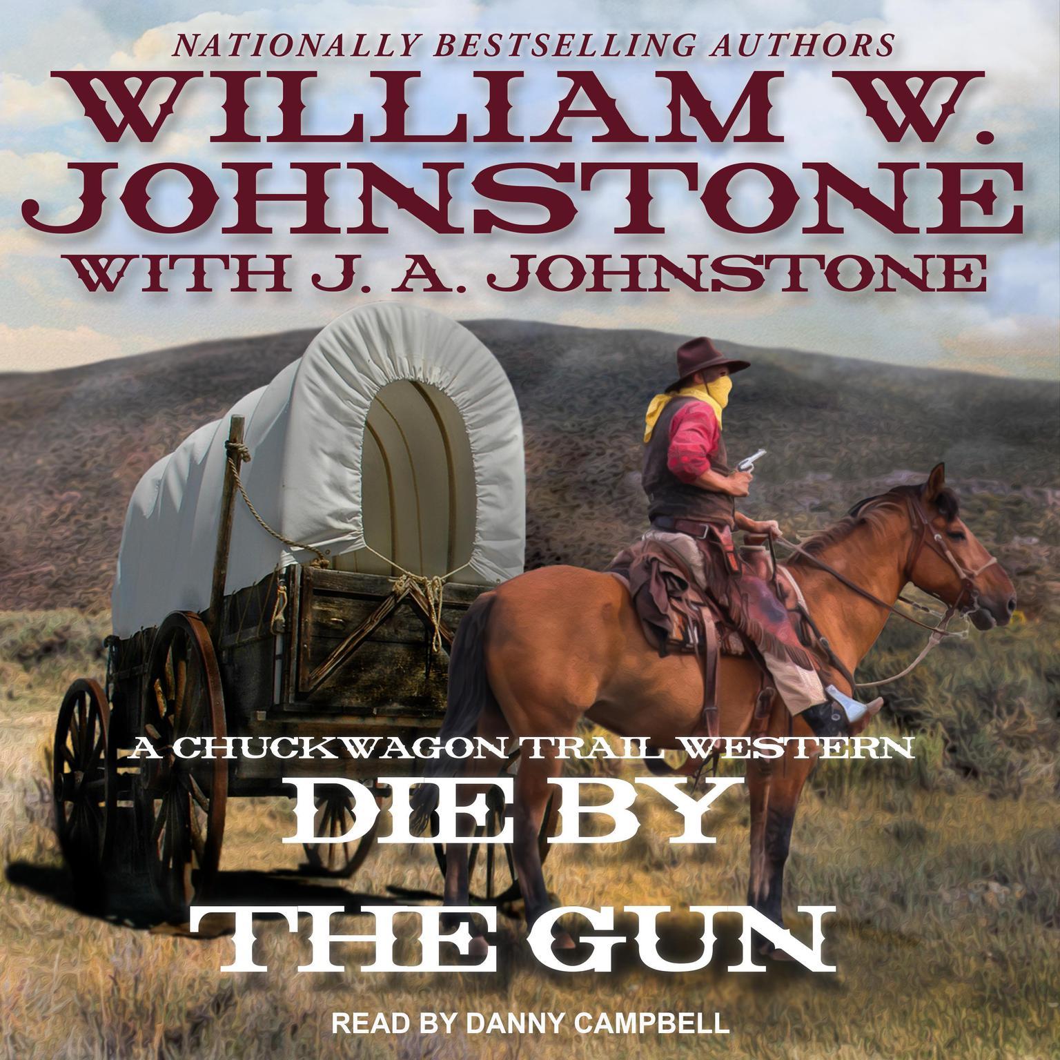 Printable Die by the Gun Audiobook Cover Art
