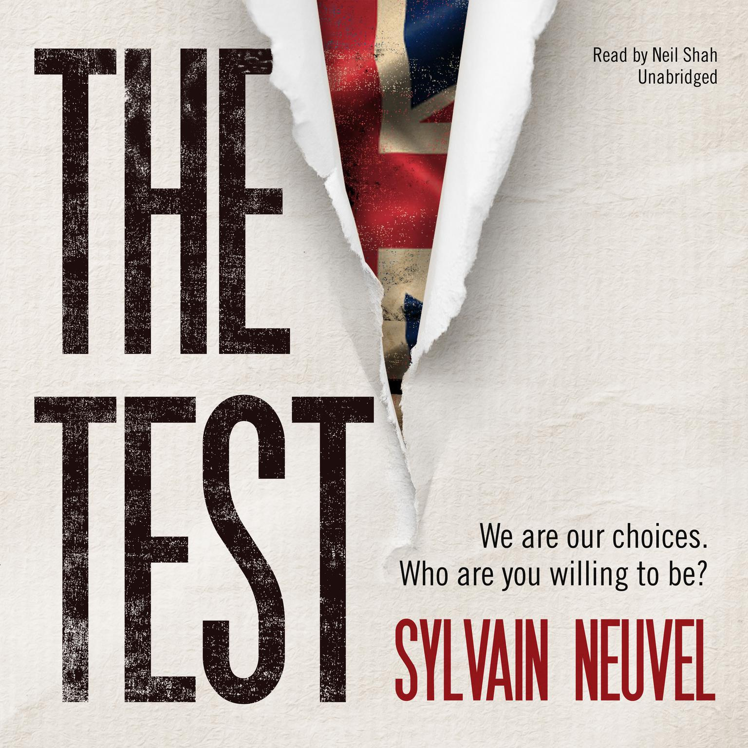 Printable The Test Audiobook Cover Art