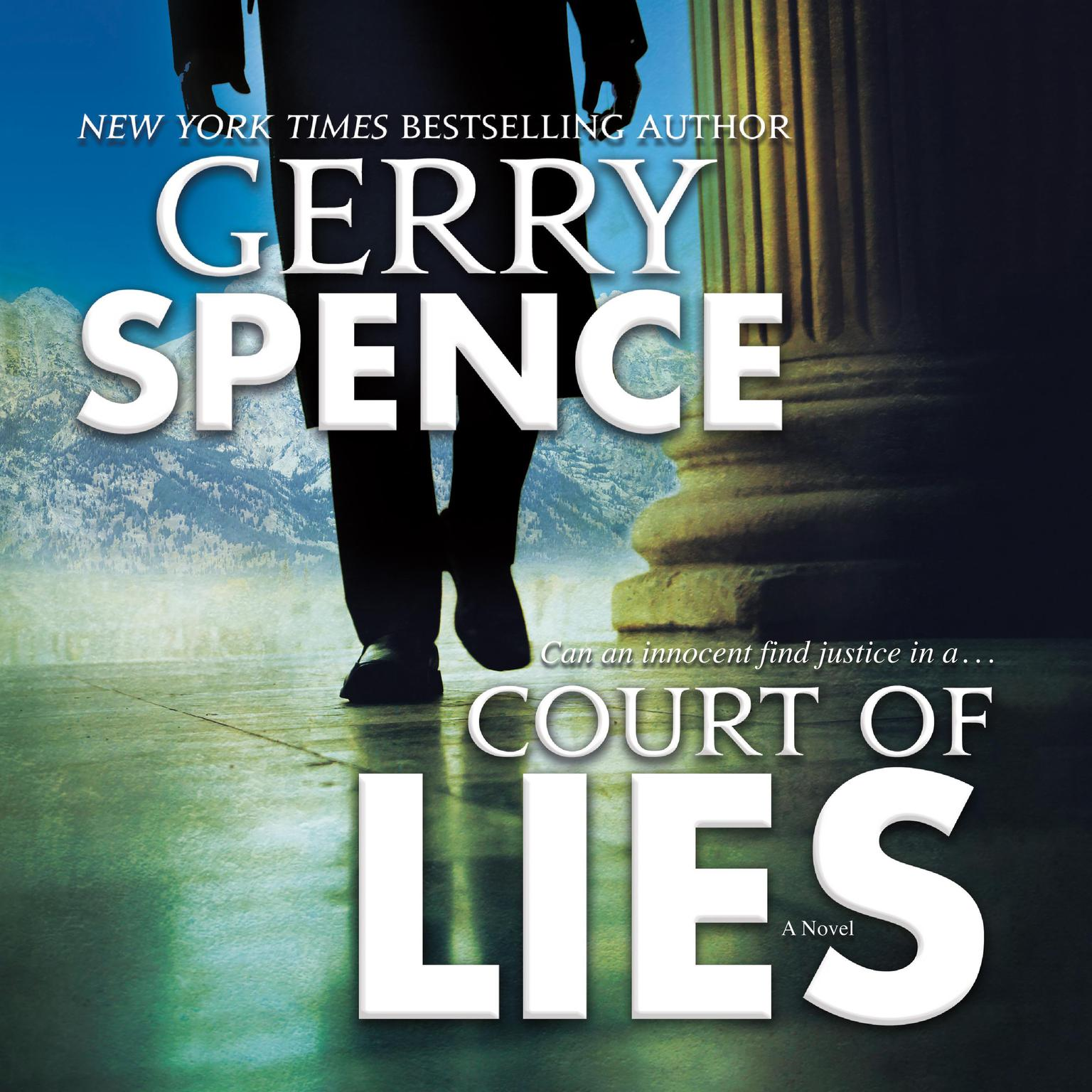 Printable Court of Lies: A Novel Audiobook Cover Art