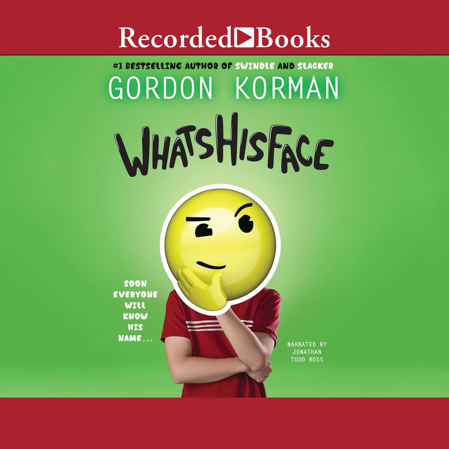 Printable Whatshisface Audiobook Cover Art