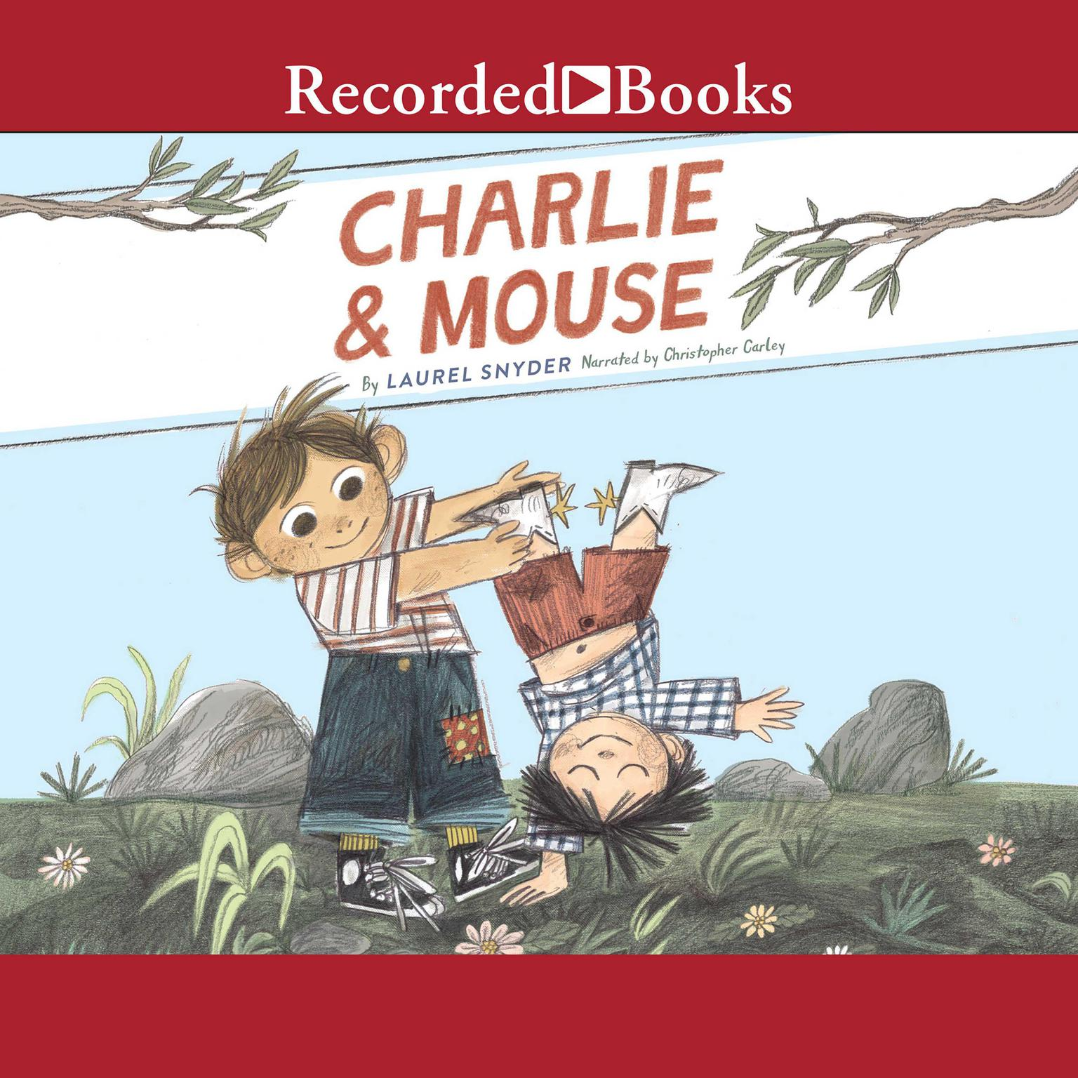 Printable Charlie & Mouse Audiobook Cover Art