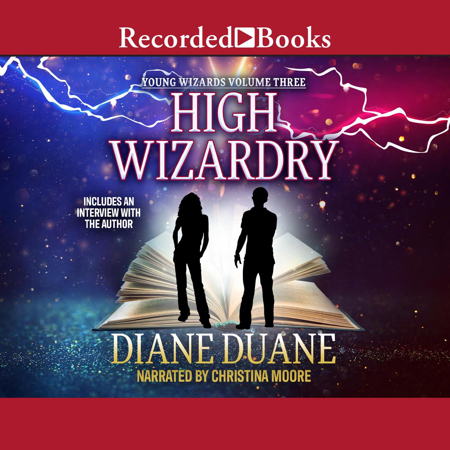 Printable High Wizardry Audiobook Cover Art