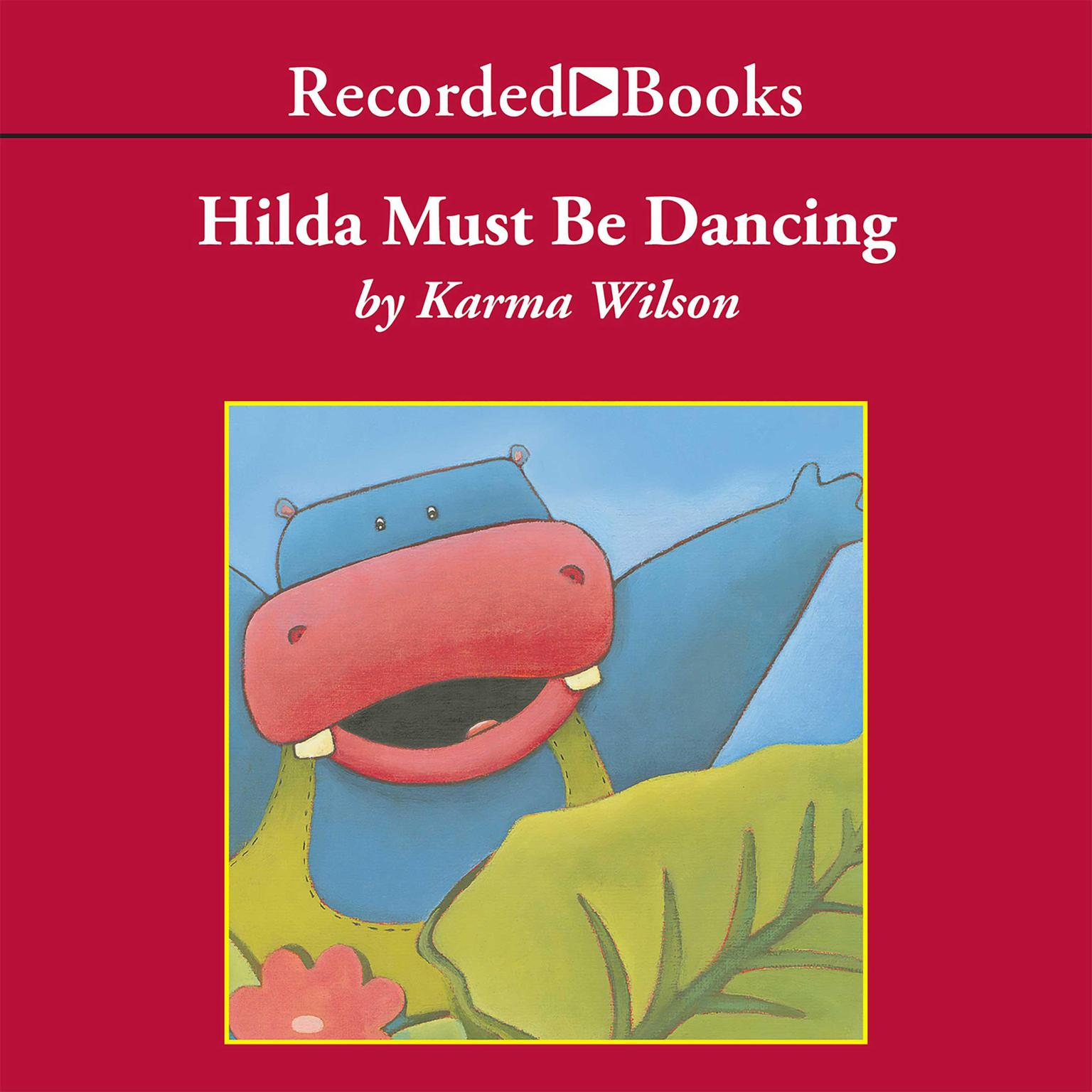 Printable Hilda Must Be Dancing Audiobook Cover Art
