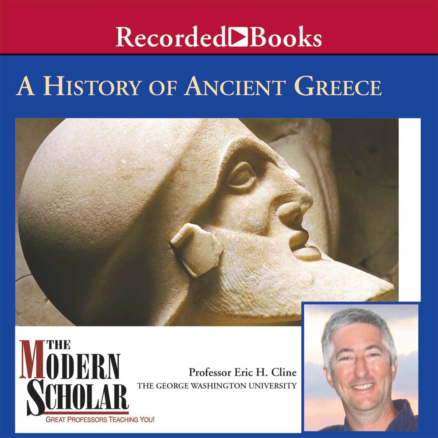 Printable A History of Ancient Greece Audiobook Cover Art