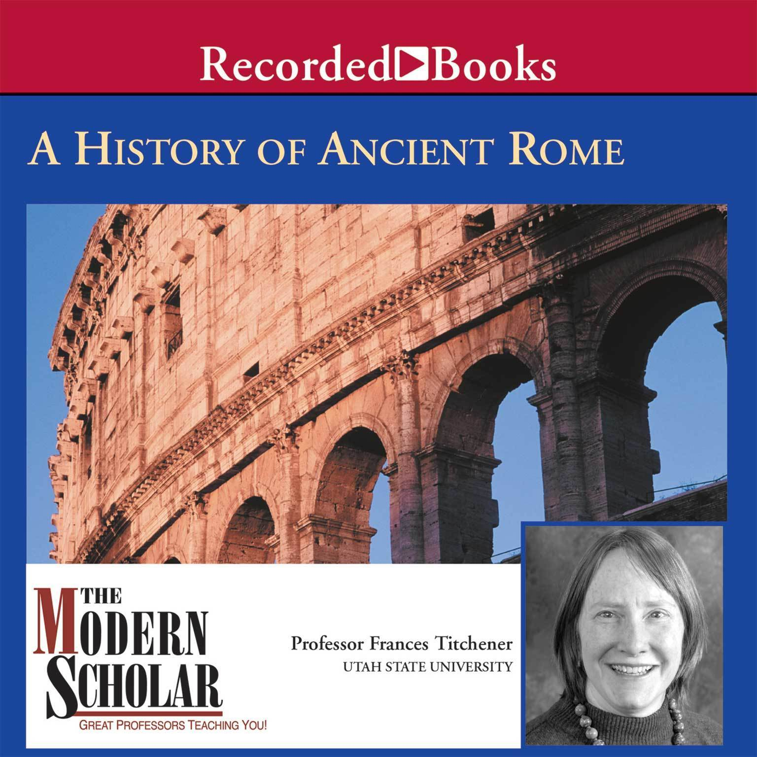 Printable A History of Ancient Rome Audiobook Cover Art