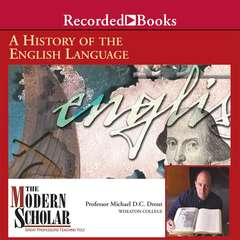 A History of the English Language Audiobook, by