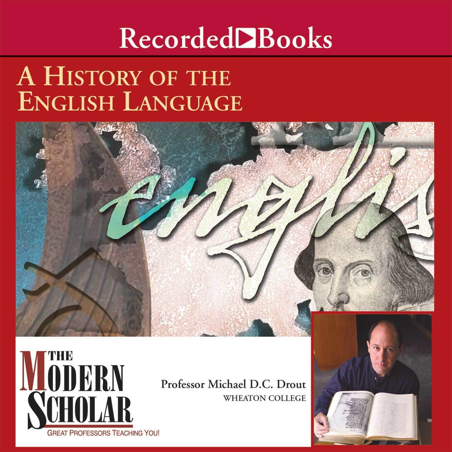 Printable A History of the English Language Audiobook Cover Art