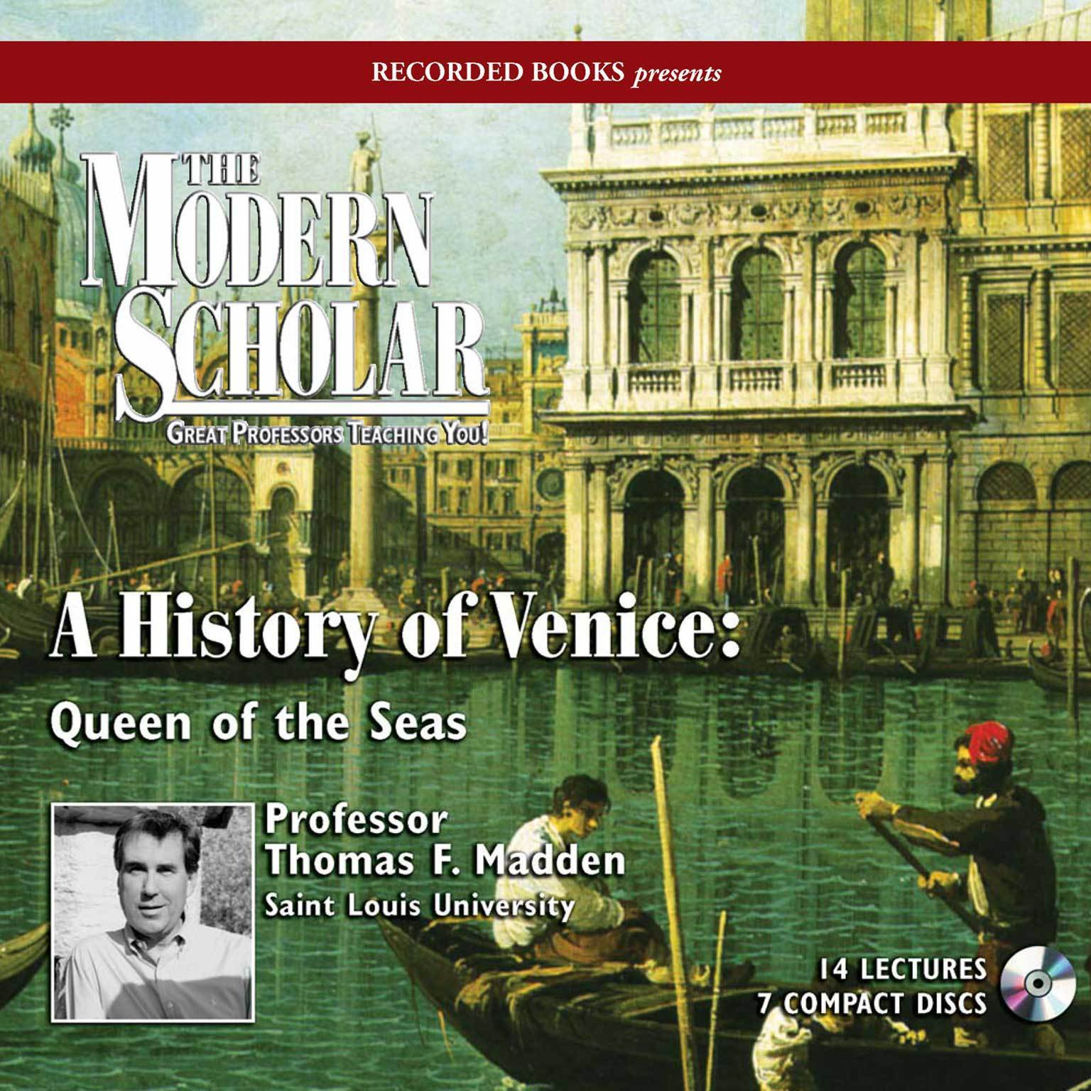 Printable A History of Venice: Queen of the Seas Audiobook Cover Art