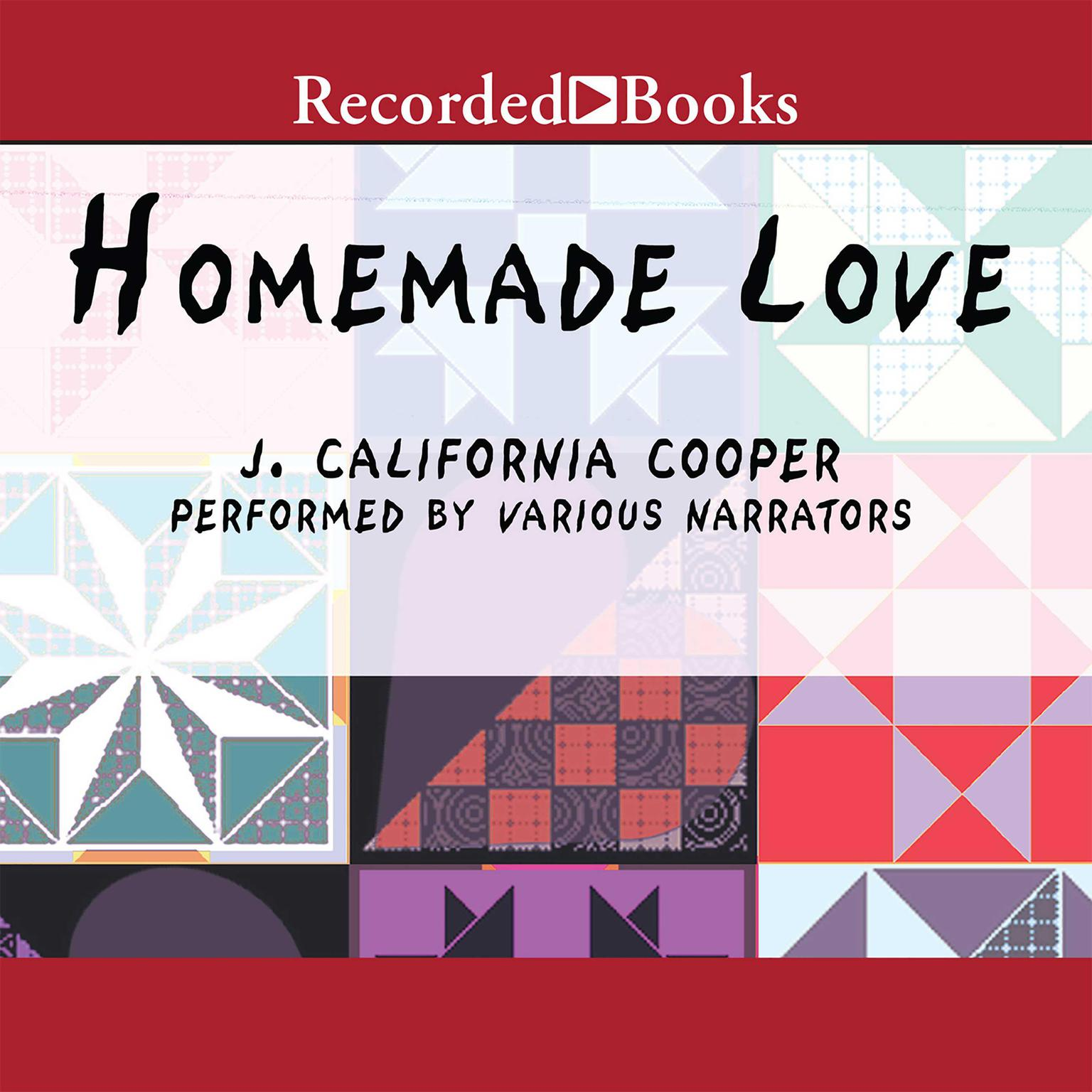 Printable Homemade Love Audiobook Cover Art