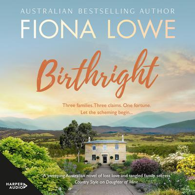 Birthright Audiobook, by Fiona Lowe