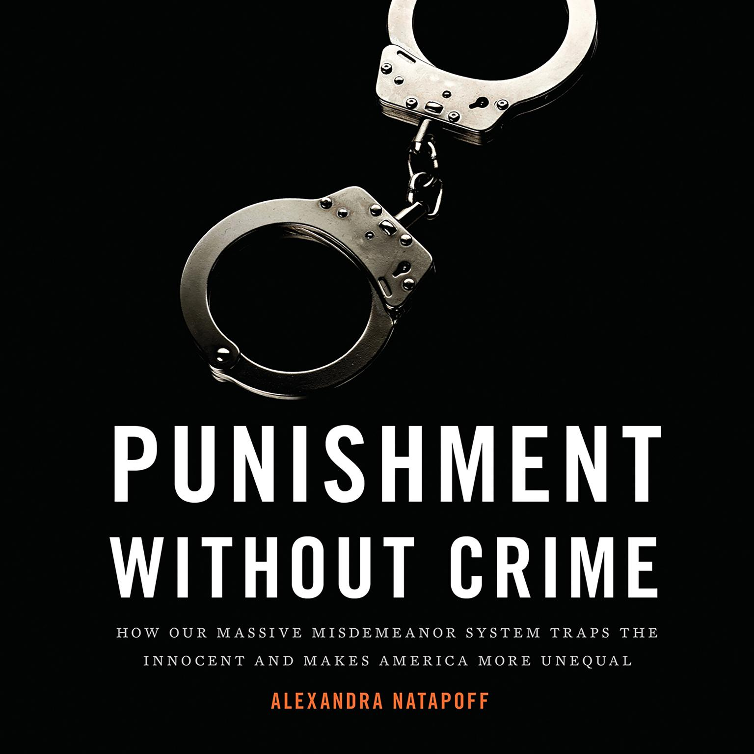 Printable Punishment Without Crime: How Our Massive Misdemeanor System Traps the Innocent and Makes America More Unequal Audiobook Cover Art