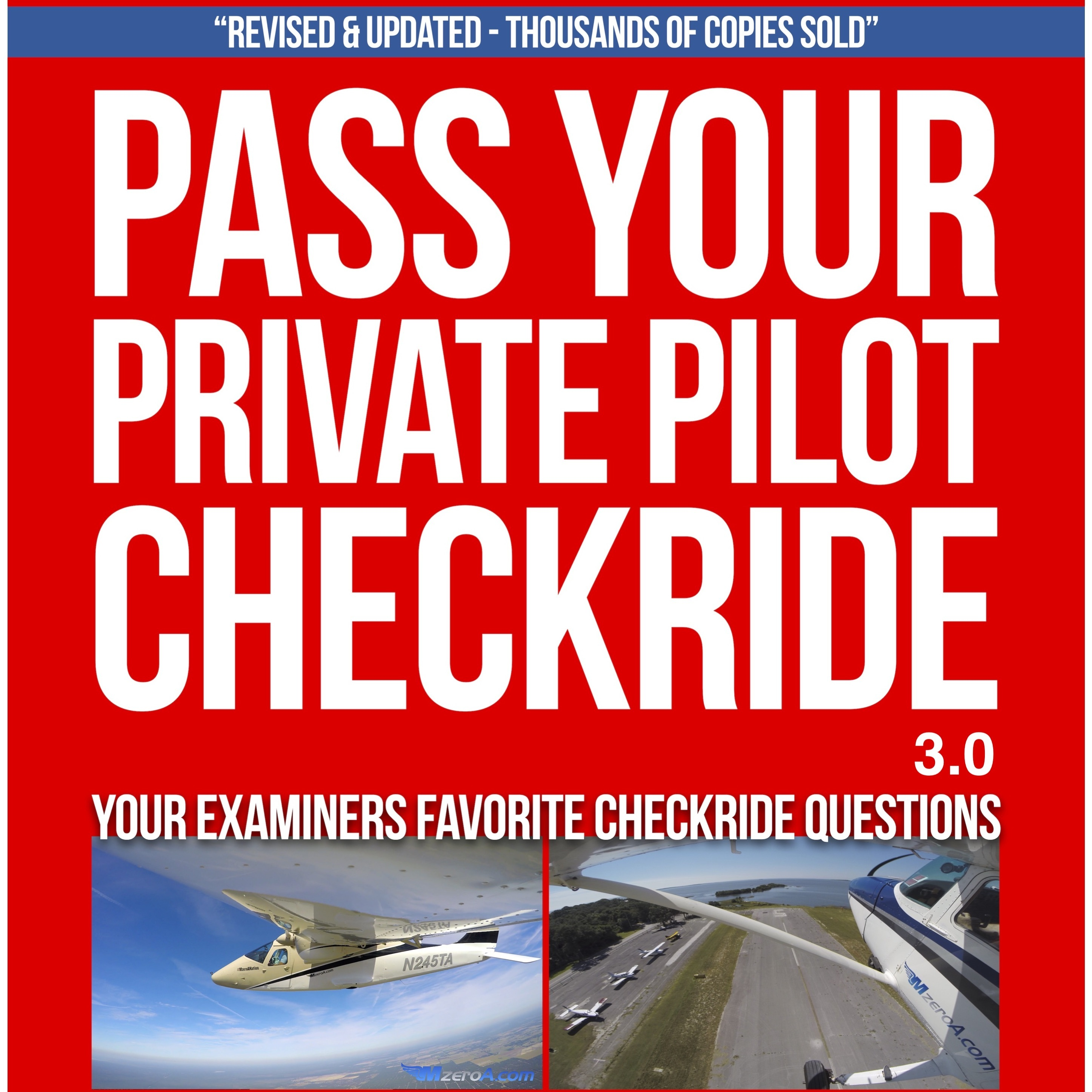 Printable Pass Your Private Pilot Checkride 3.0 Audiobook Cover Art