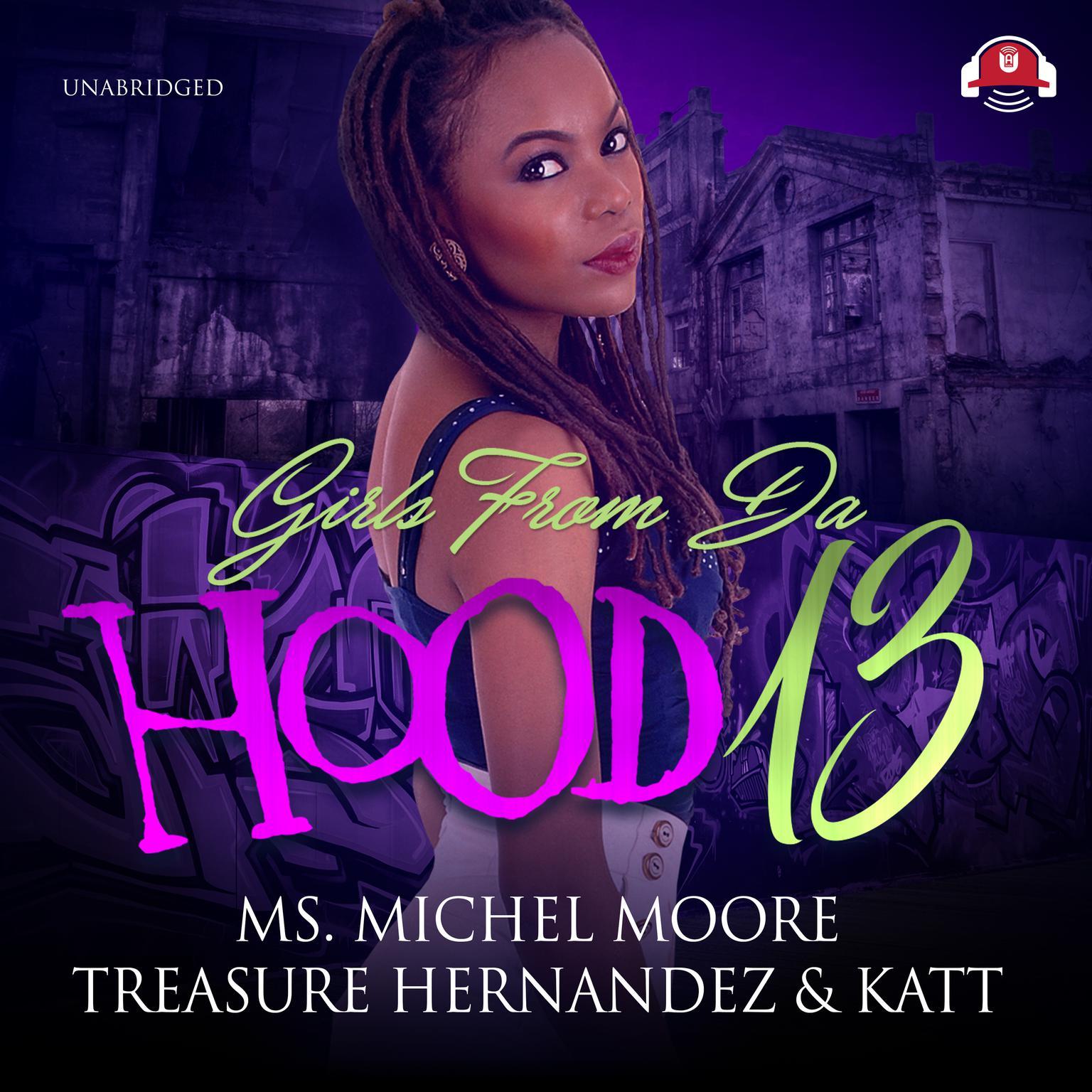 Printable Girls from da Hood 13 Audiobook Cover Art