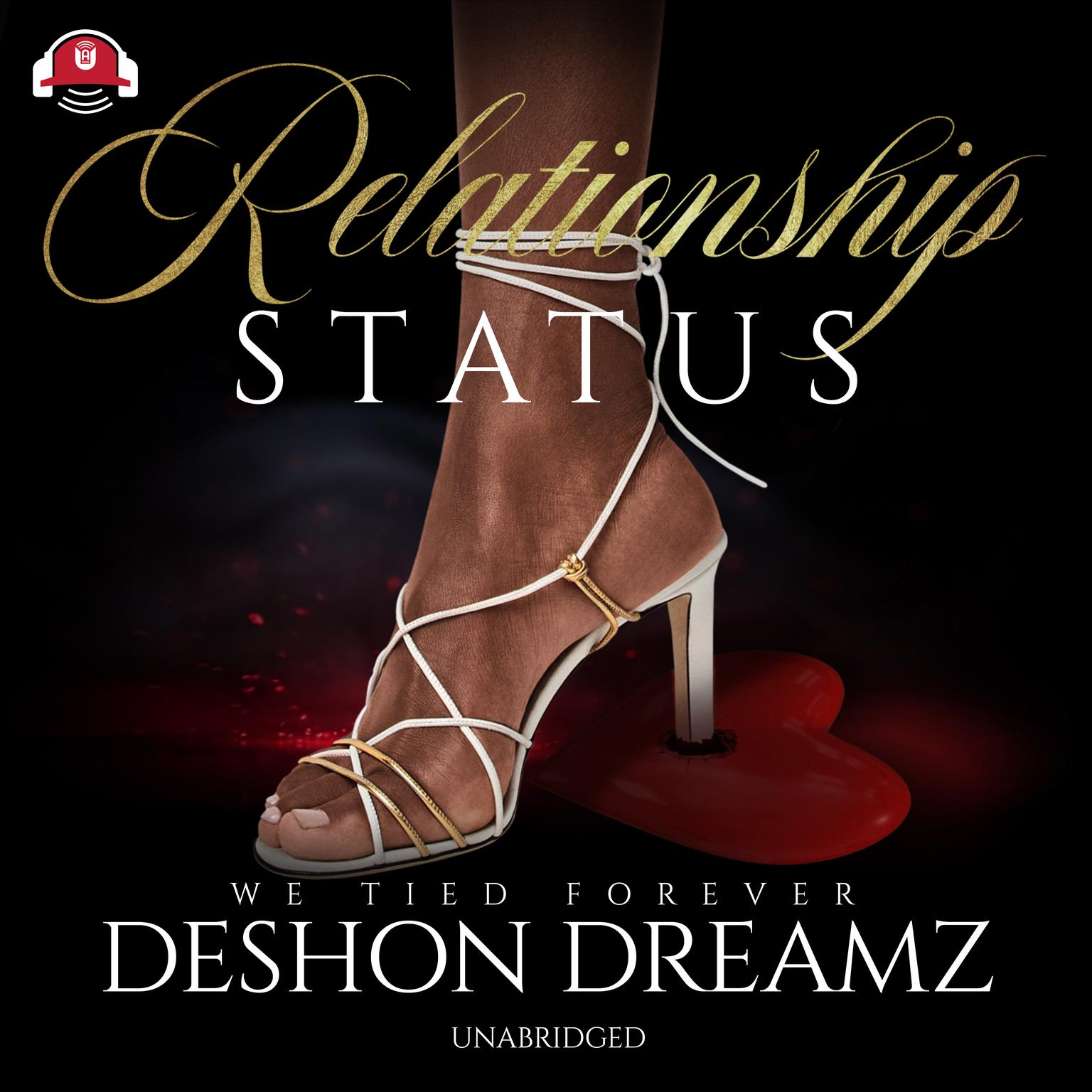 Printable Relationship Status Audiobook Cover Art