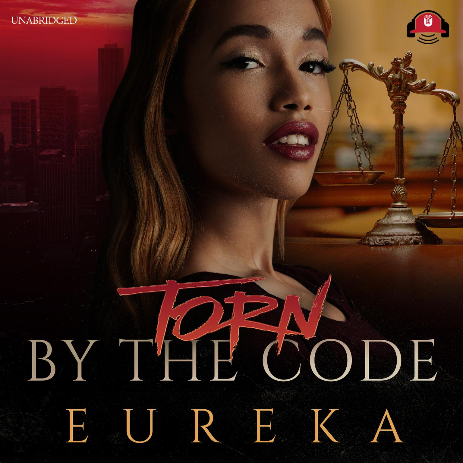 Printable Torn by the Code Audiobook Cover Art