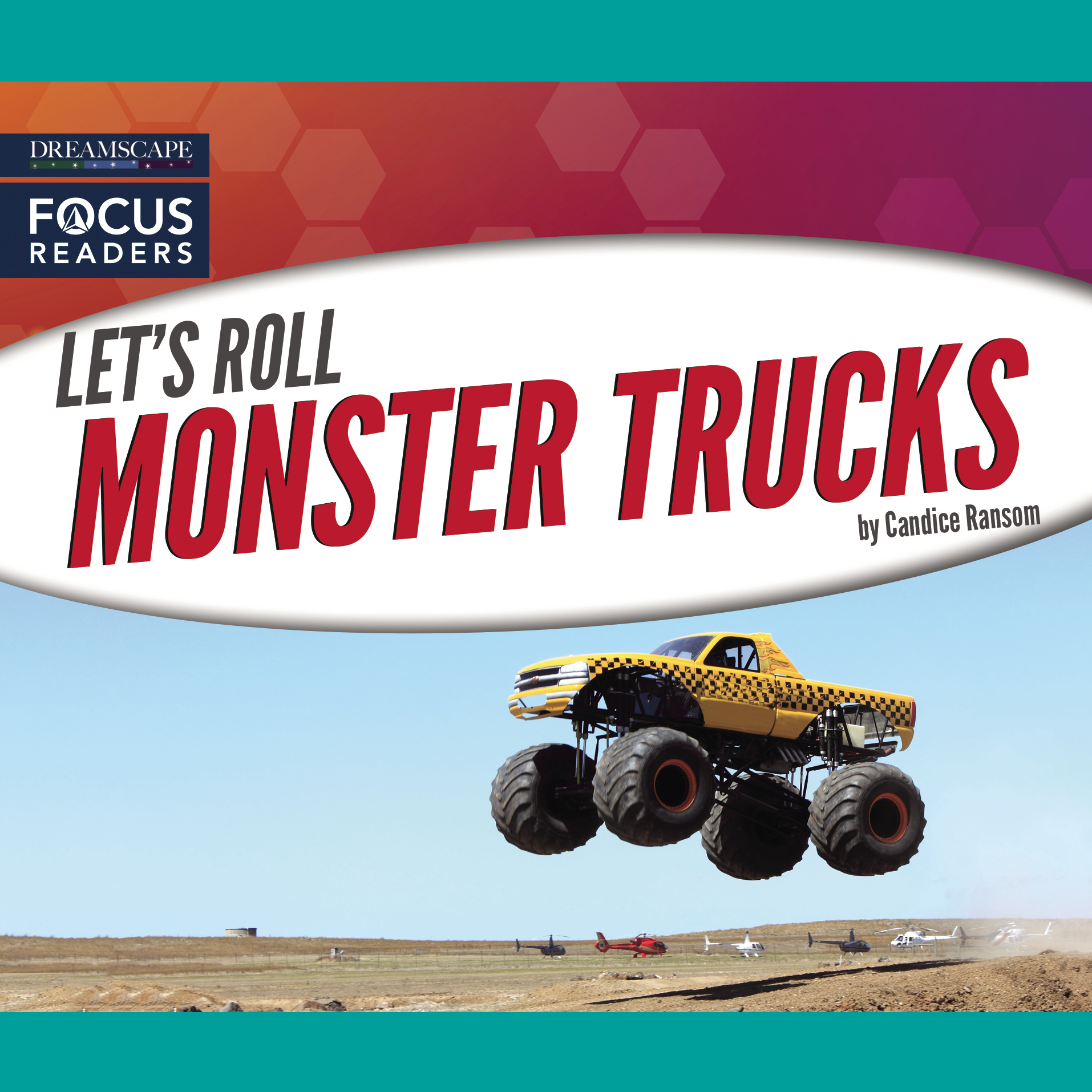 Printable Monster Trucks Audiobook Cover Art