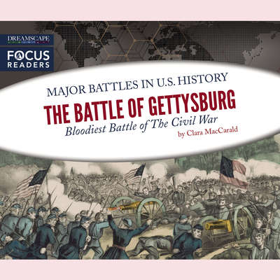 The Battle of Gettysburg: Bloodiest Battle of The Civil War Audiobook, by Clara MacCarald