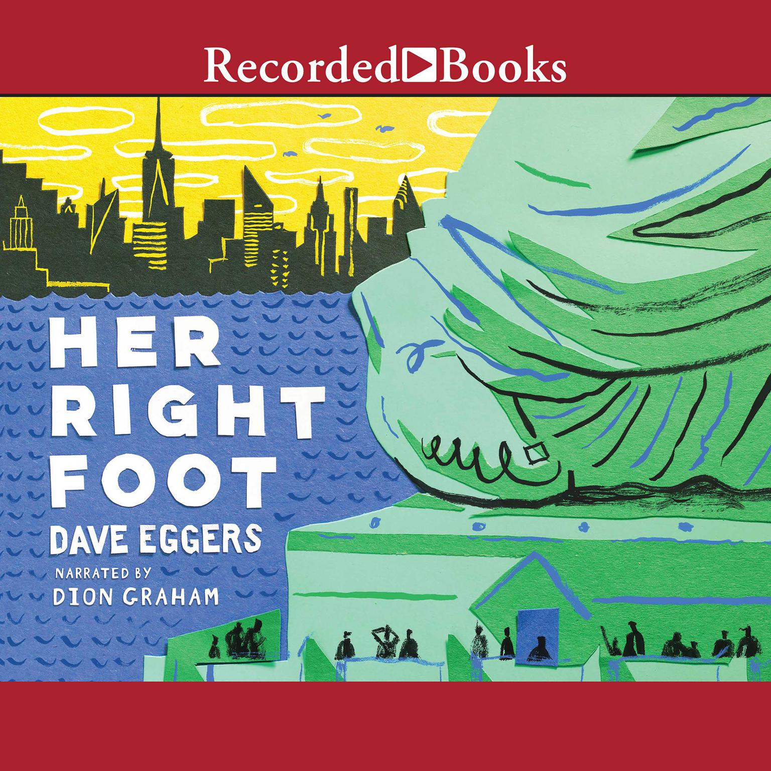 Printable Her Right Foot Audiobook Cover Art