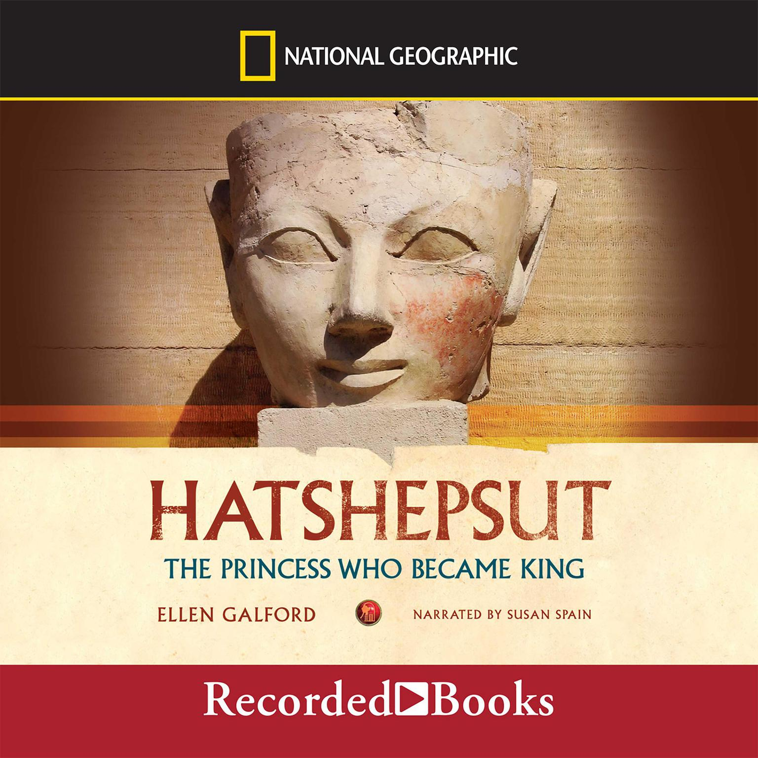 Printable Hatshepsut: The Princess Who Became King Audiobook Cover Art