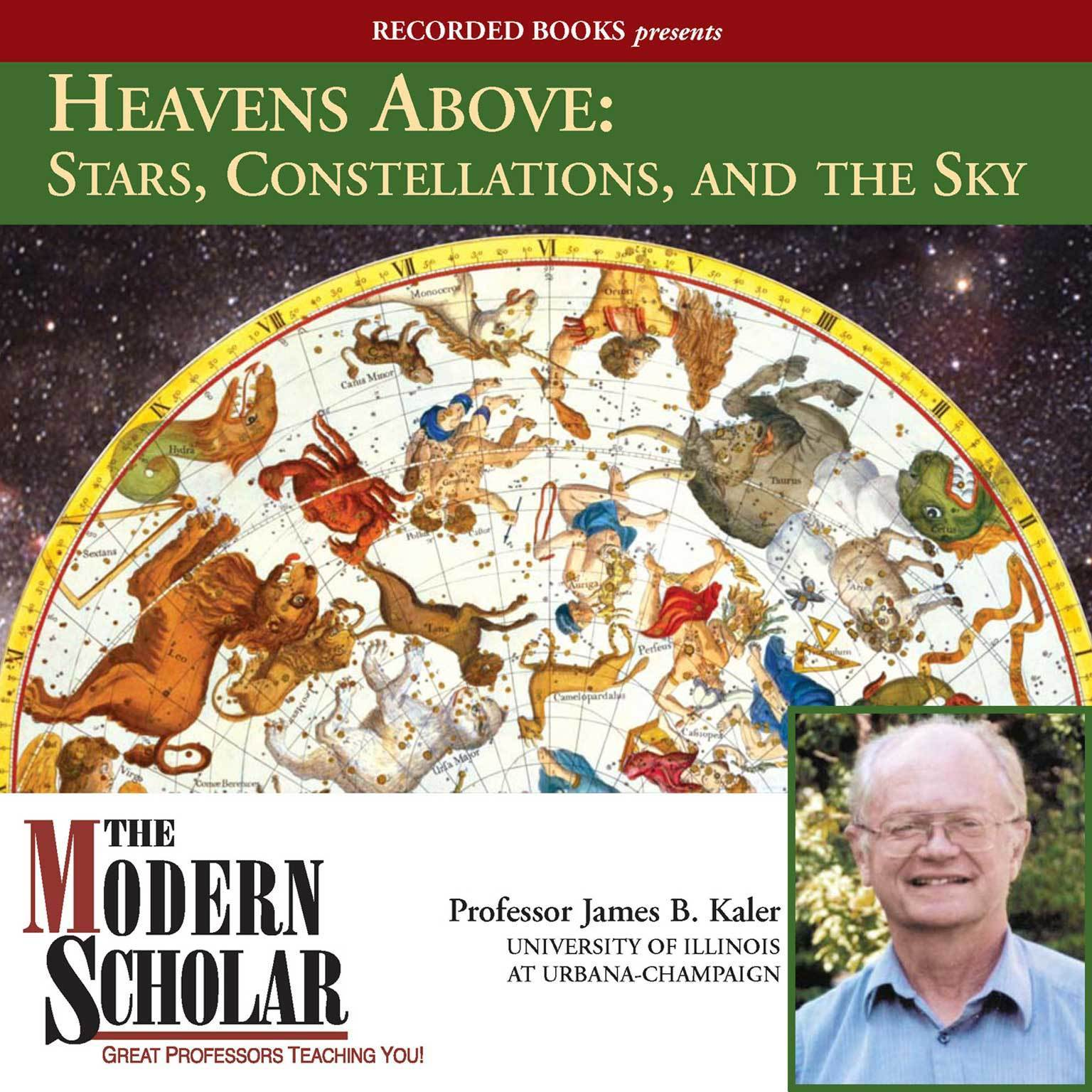 Printable Heavens Above: Stars, Constellations, and the Sky Audiobook Cover Art