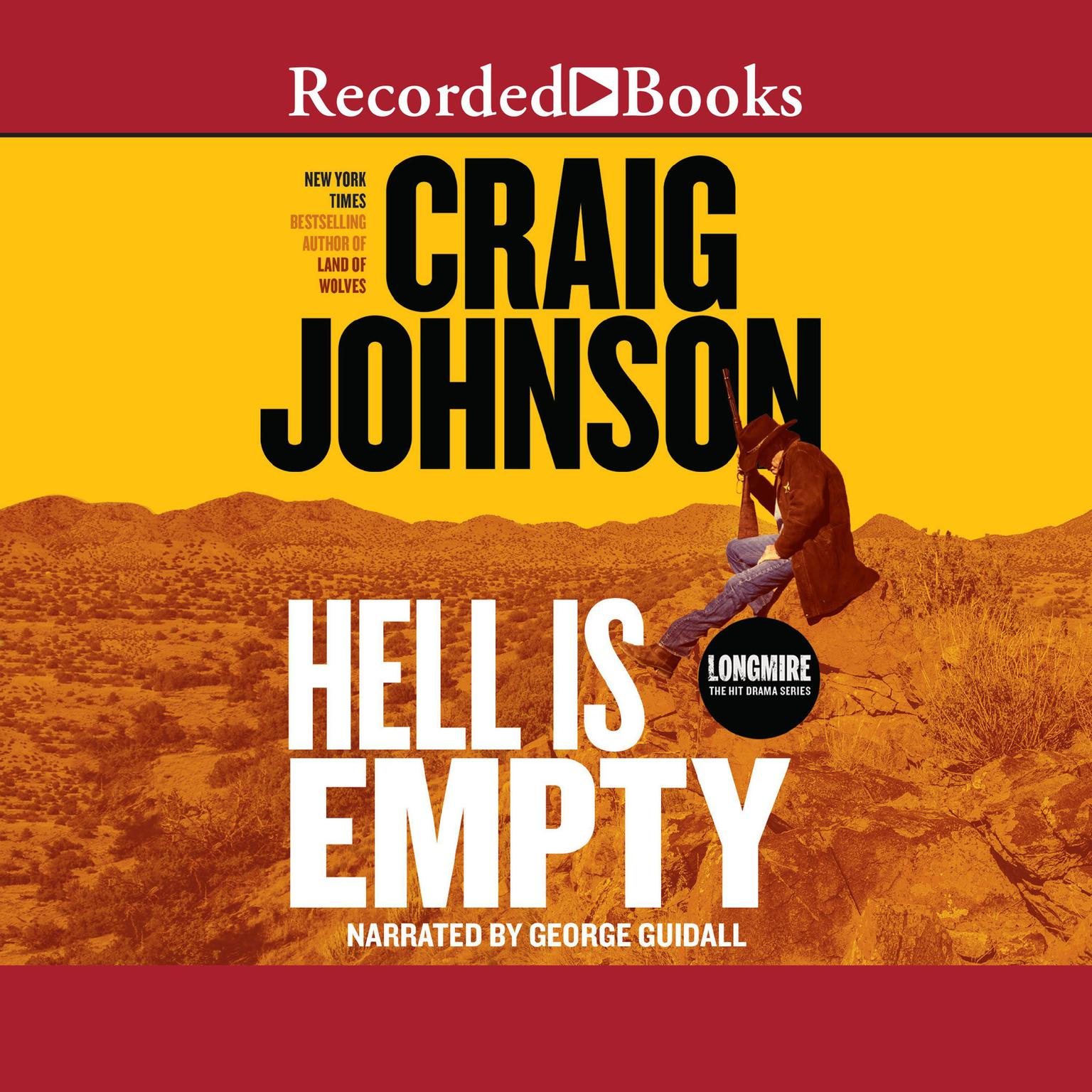 Printable Hell is Empty Audiobook Cover Art