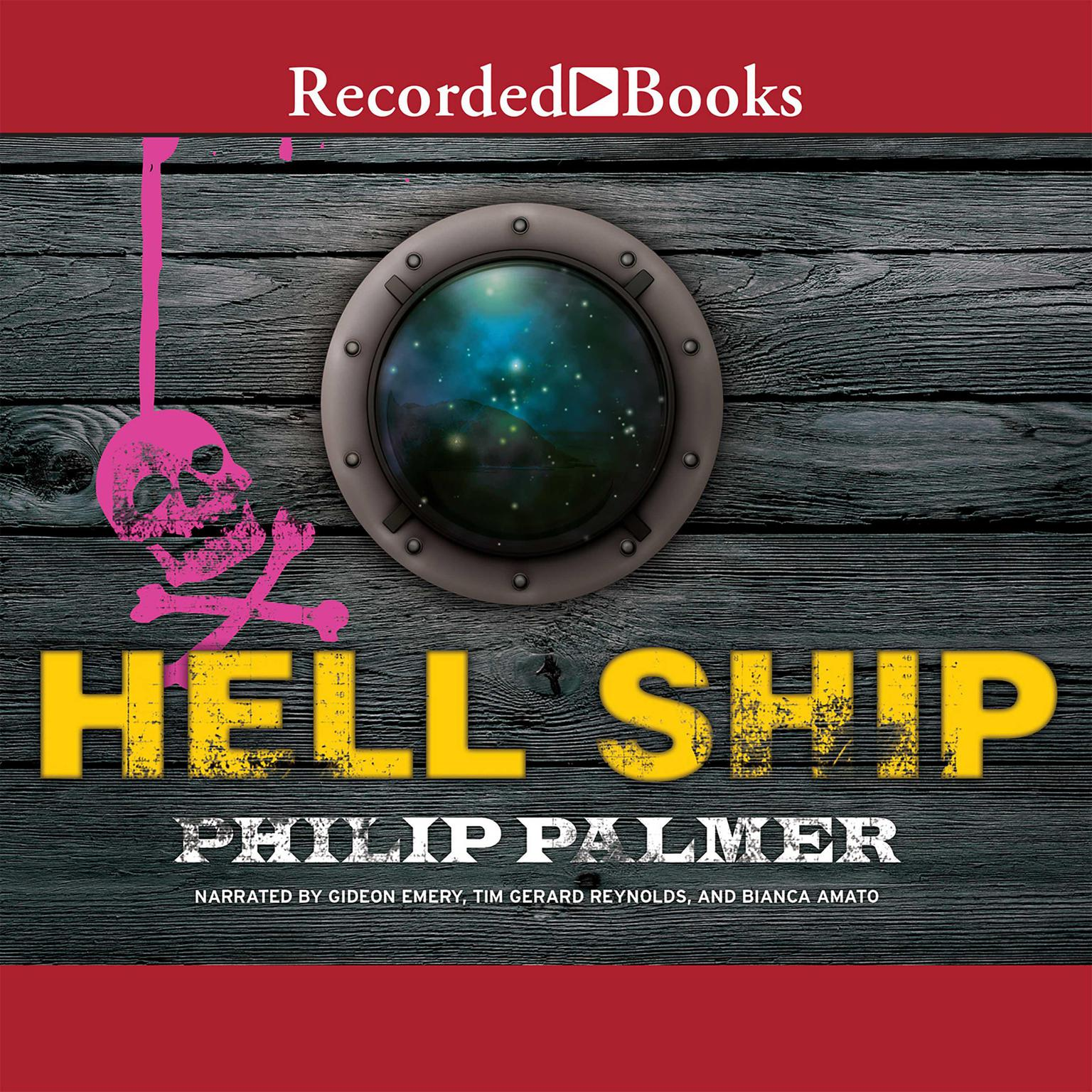 Printable Hell Ship Audiobook Cover Art