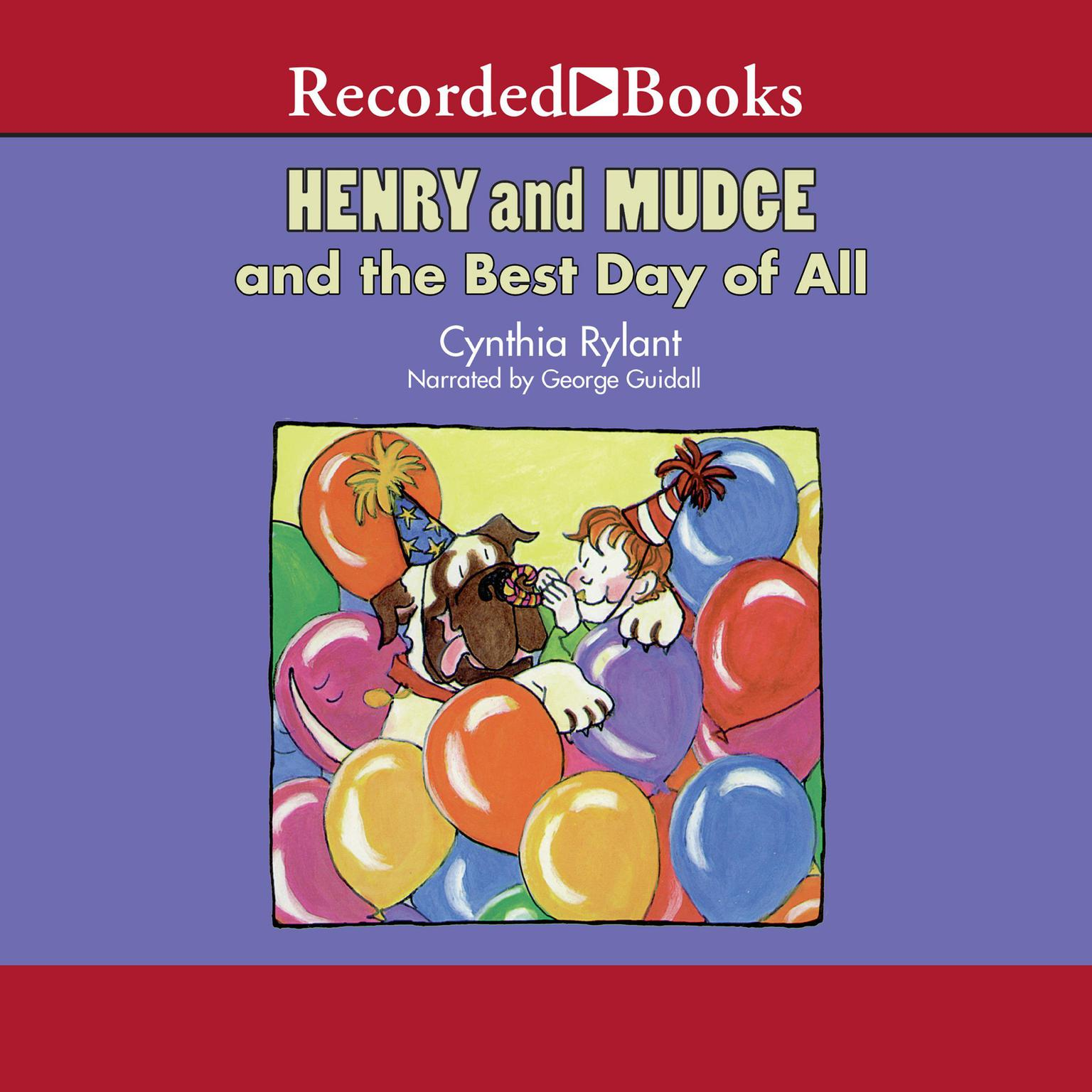 Printable Henry and Mudge and the Best Day of All Audiobook Cover Art